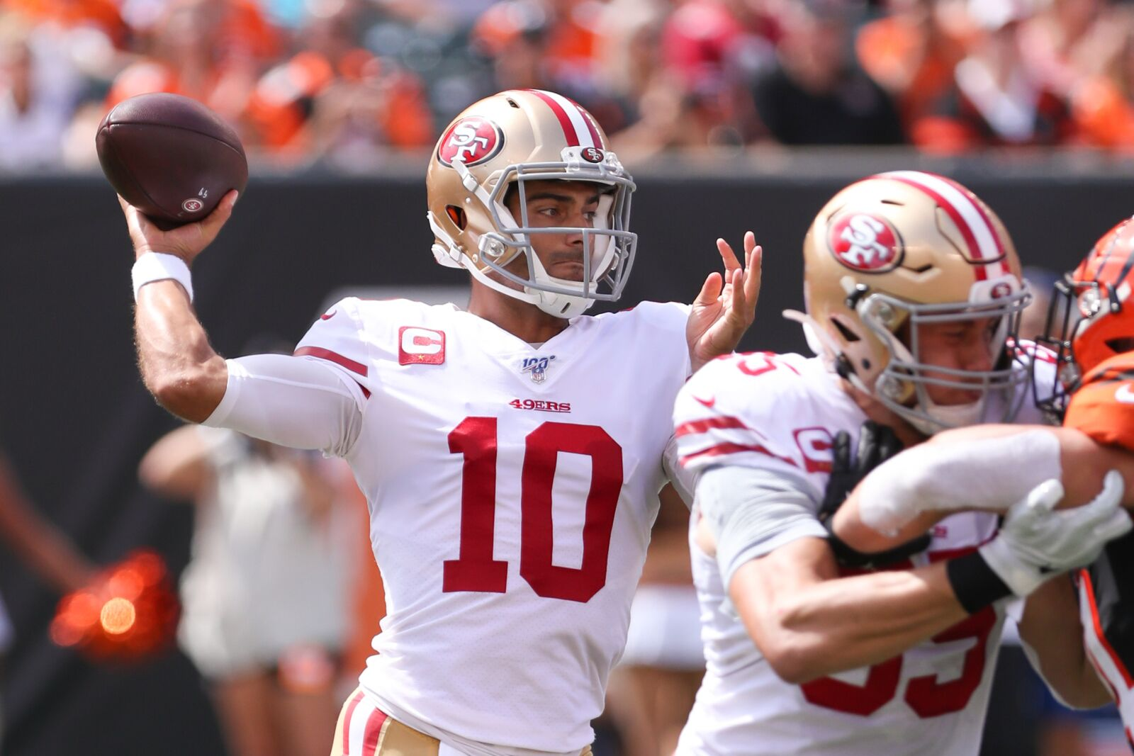 Believe it: Jimmy Garoppolo makes 49ers look like legit playoff contenders