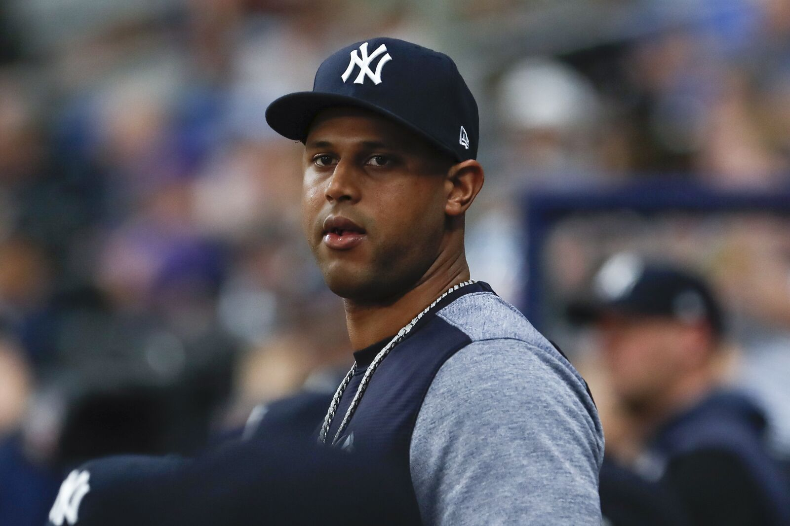 Aaron Hicks is putting the Yankees under serious pressure