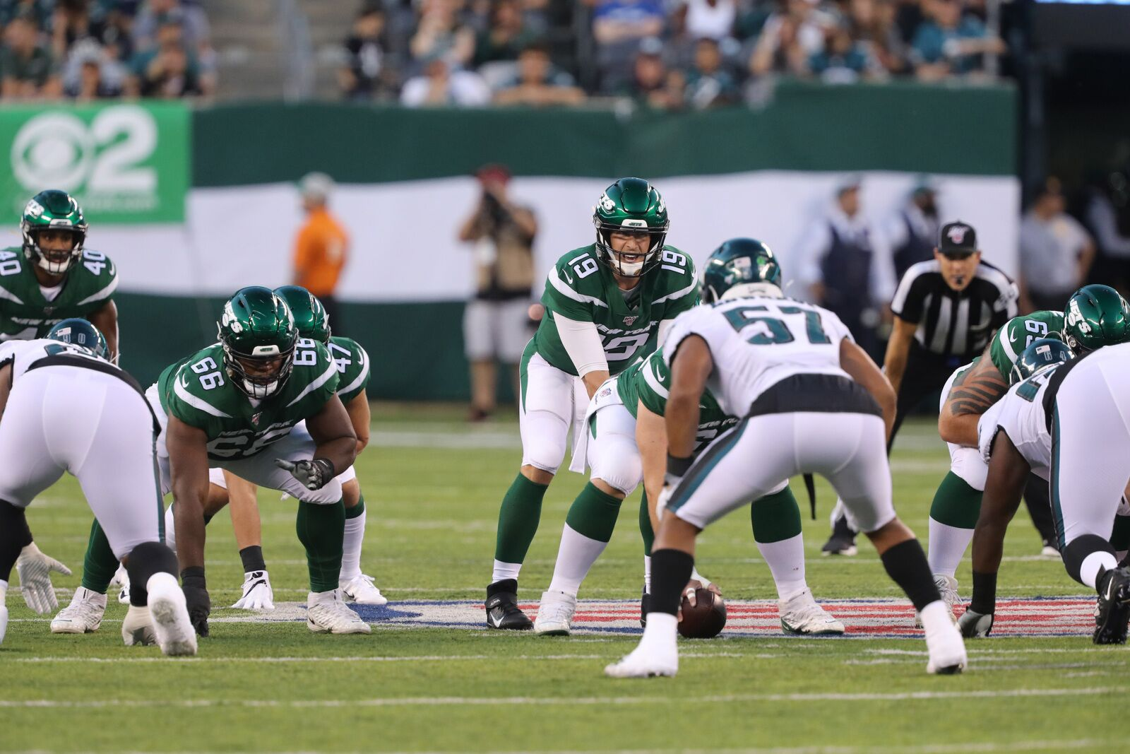 Jets lose another QB after Trevor Siemian gets crushed