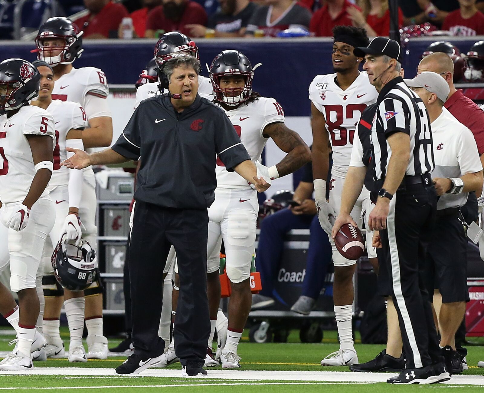 Pac-12 playoff hopes rest with Mike Leach and Washington State