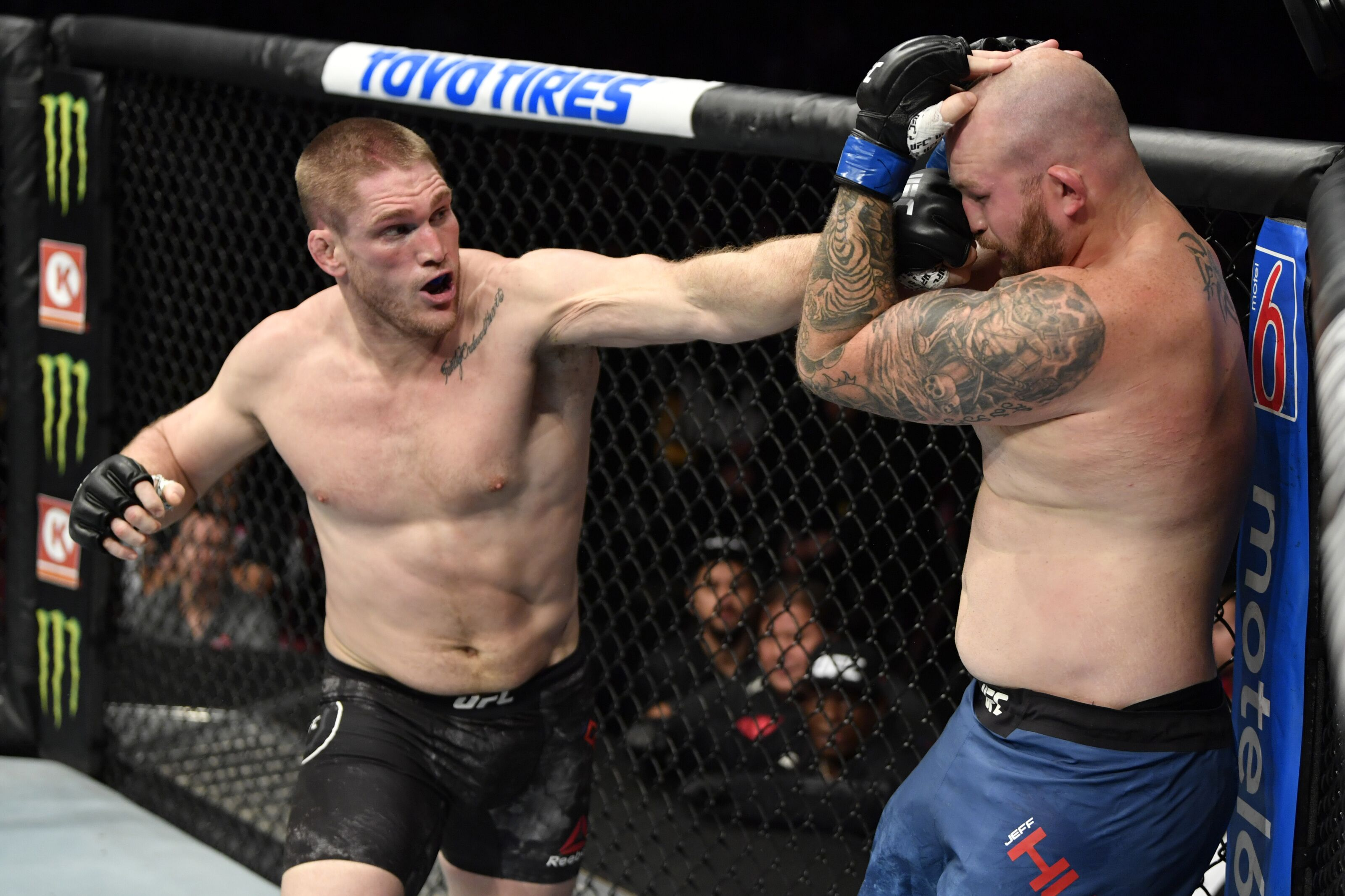 UFC Vancouver: Todd Duffee return to the Octagon ends in a no-contest against Jeff Hughes