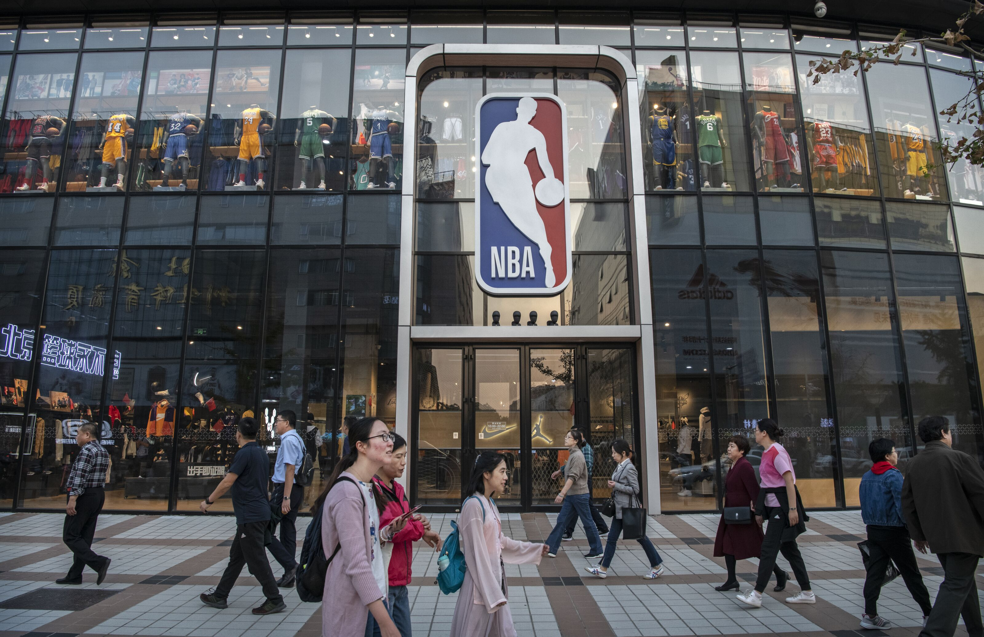 Could the China situation affect future NBA salary cap levels?