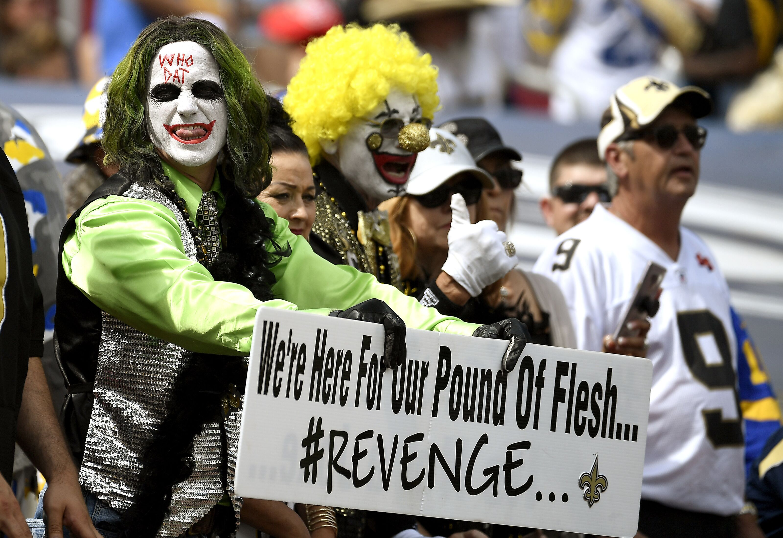 Saints Get Robbed Again By Officials In Rams Game