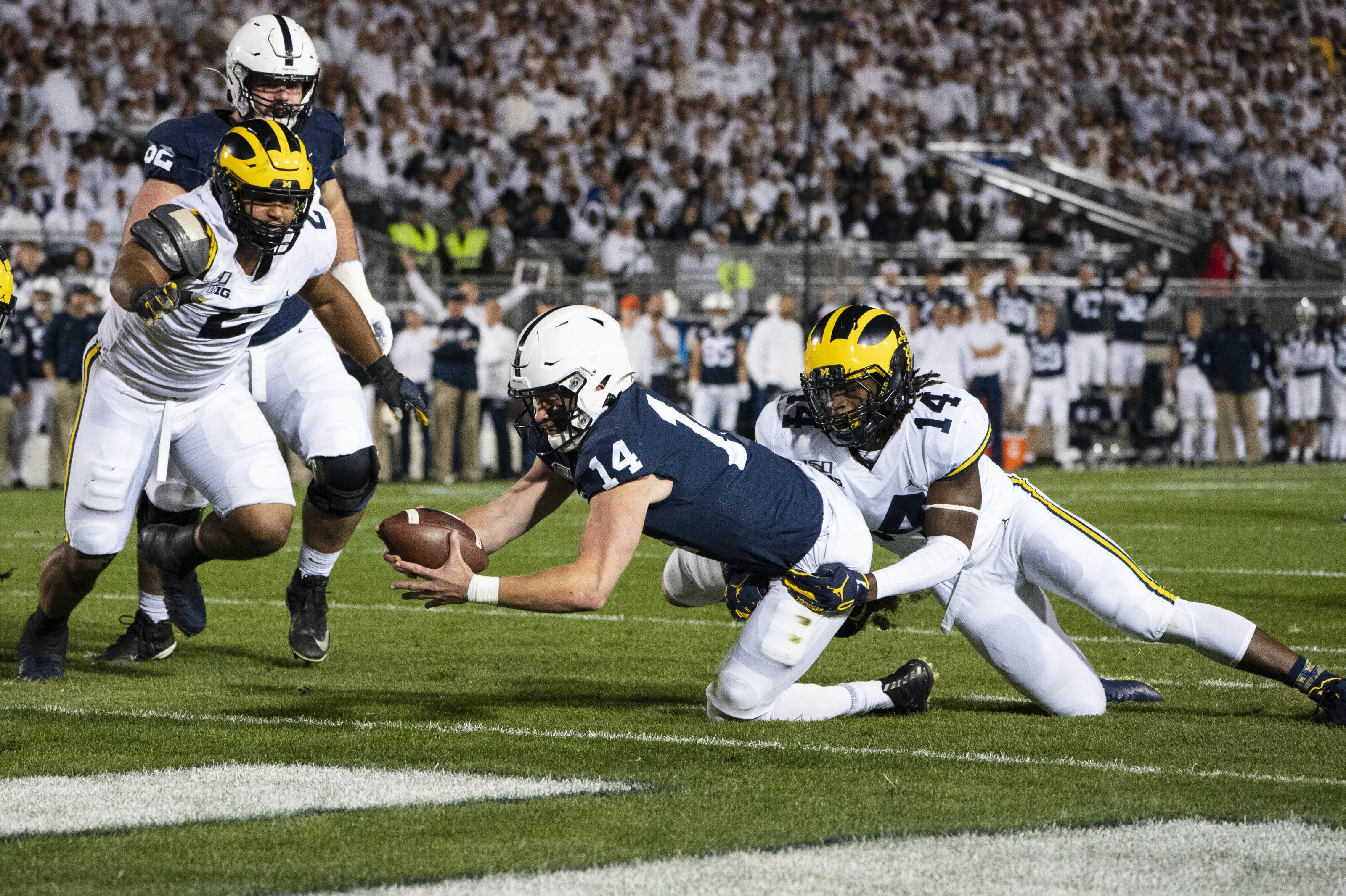 Big Ten power rankings: Can Penn State challenge Ohio State?