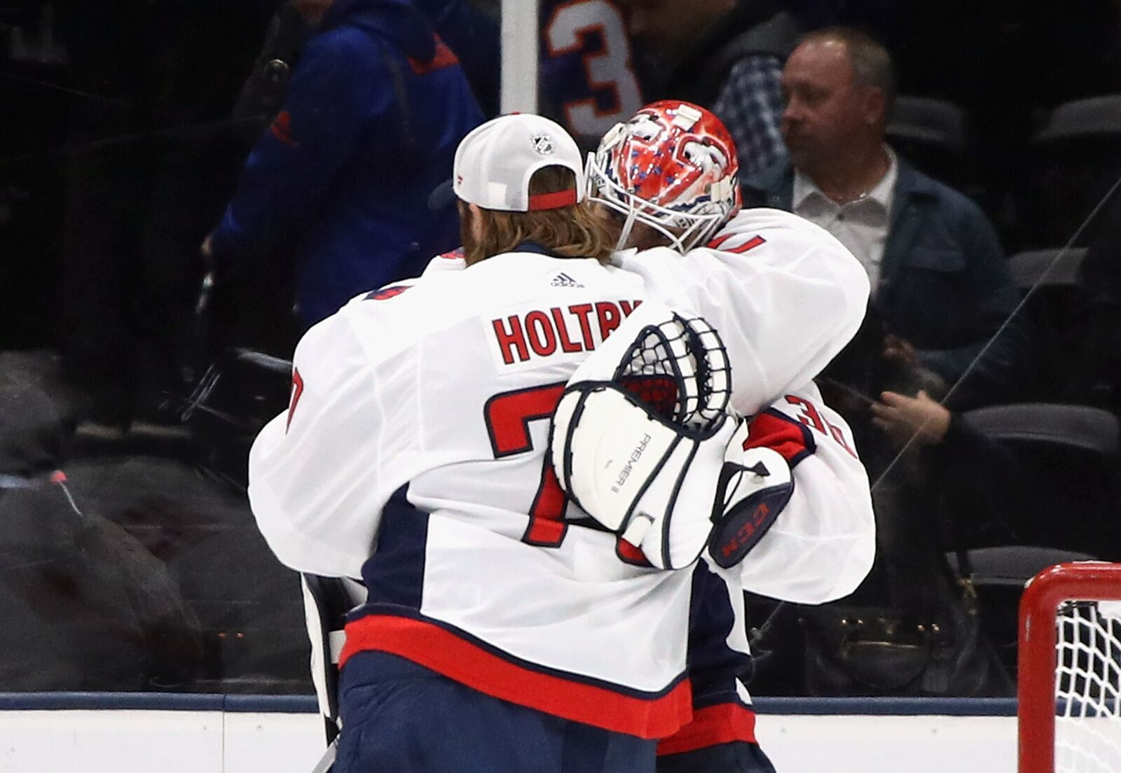 The Washington Capitals have a goalie controversy on their hands