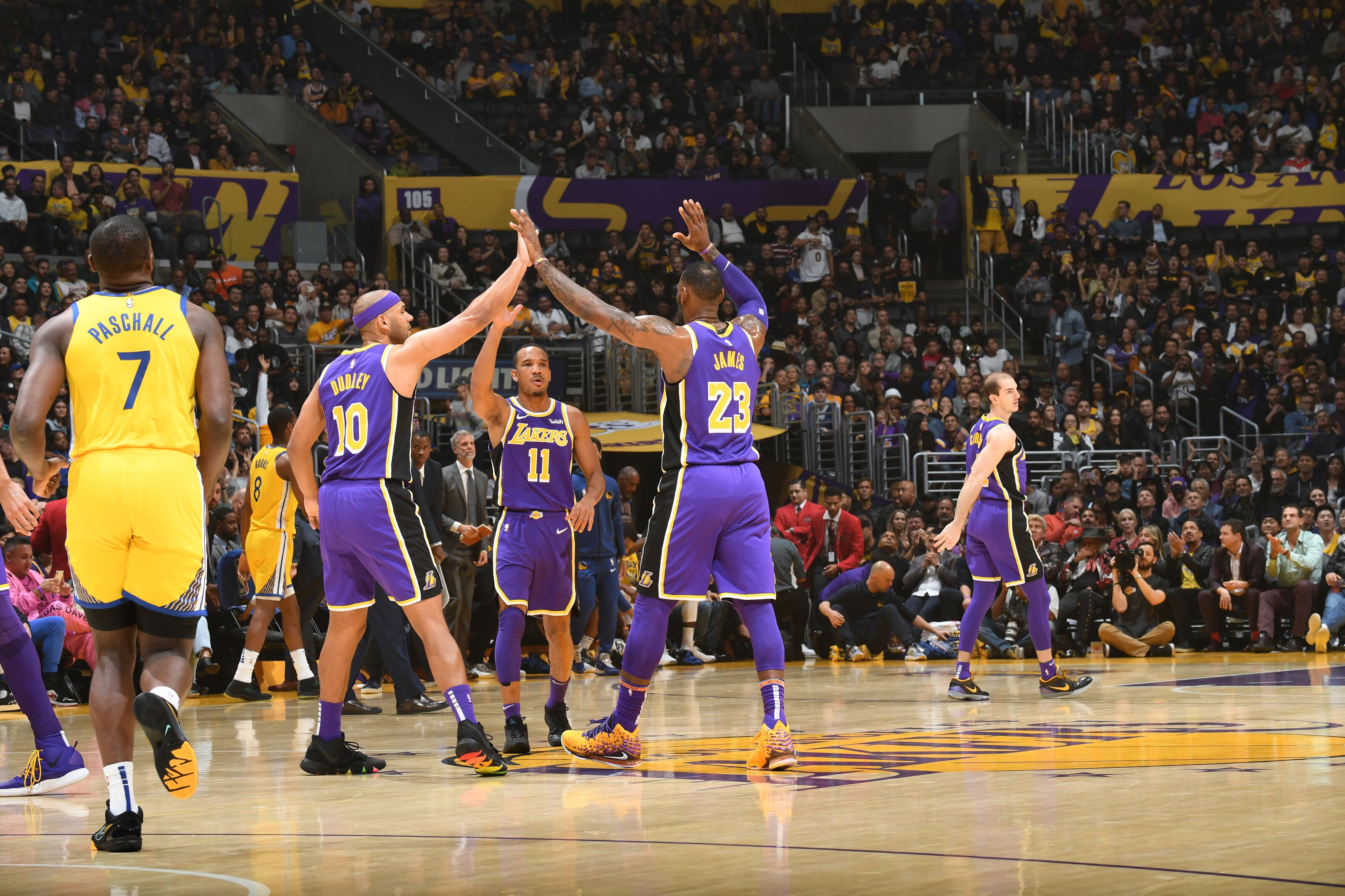 The Lakers' role players have cemented them as championship contenders