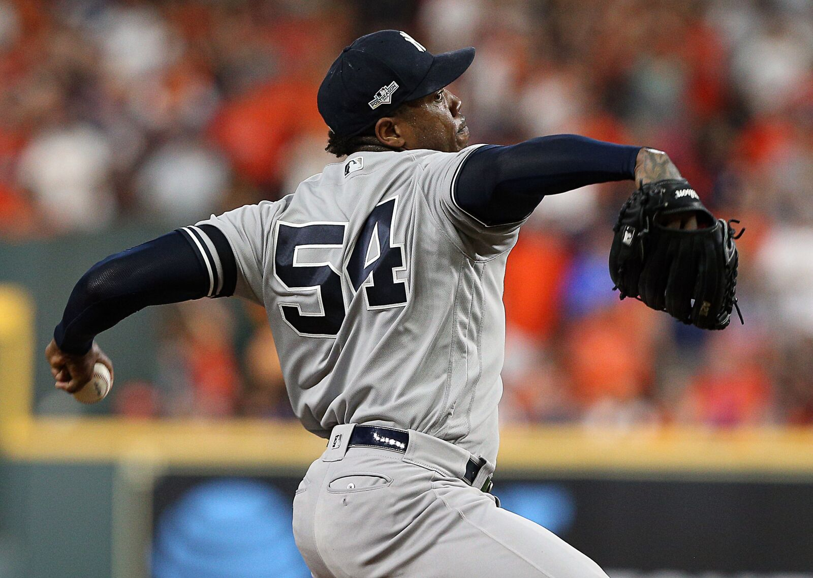 Aroldis Chapman wants to stay with the Yankees