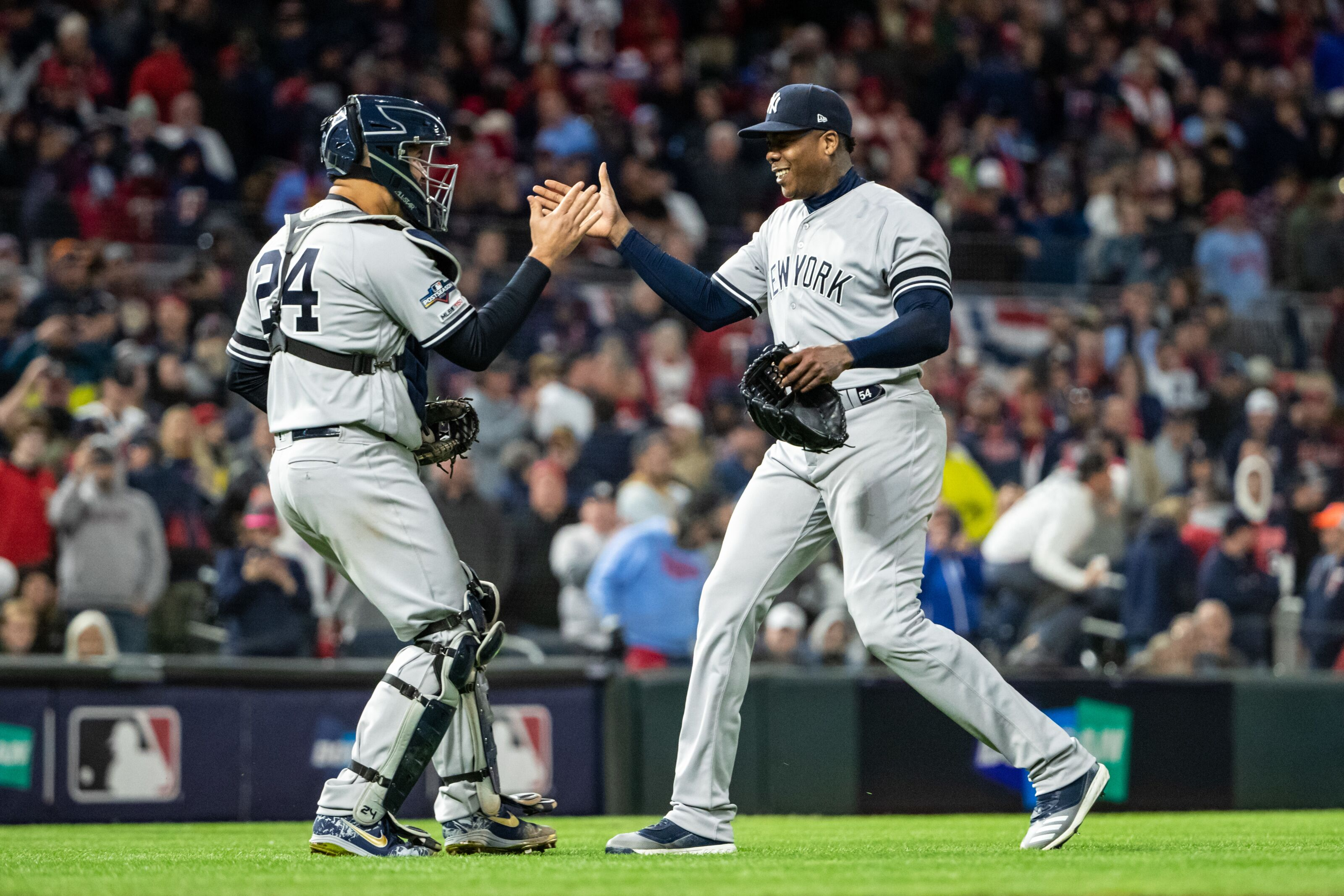 Yankees bringing back Aroldis Chapman was the first good offseason move