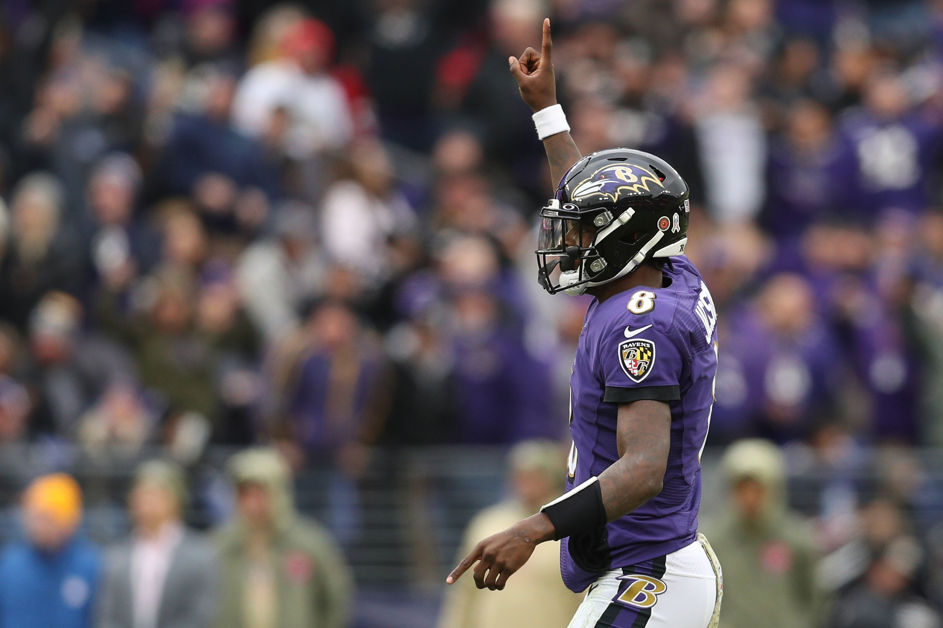 Lamar Jackson showed why he's the frontrunner in the MVP race