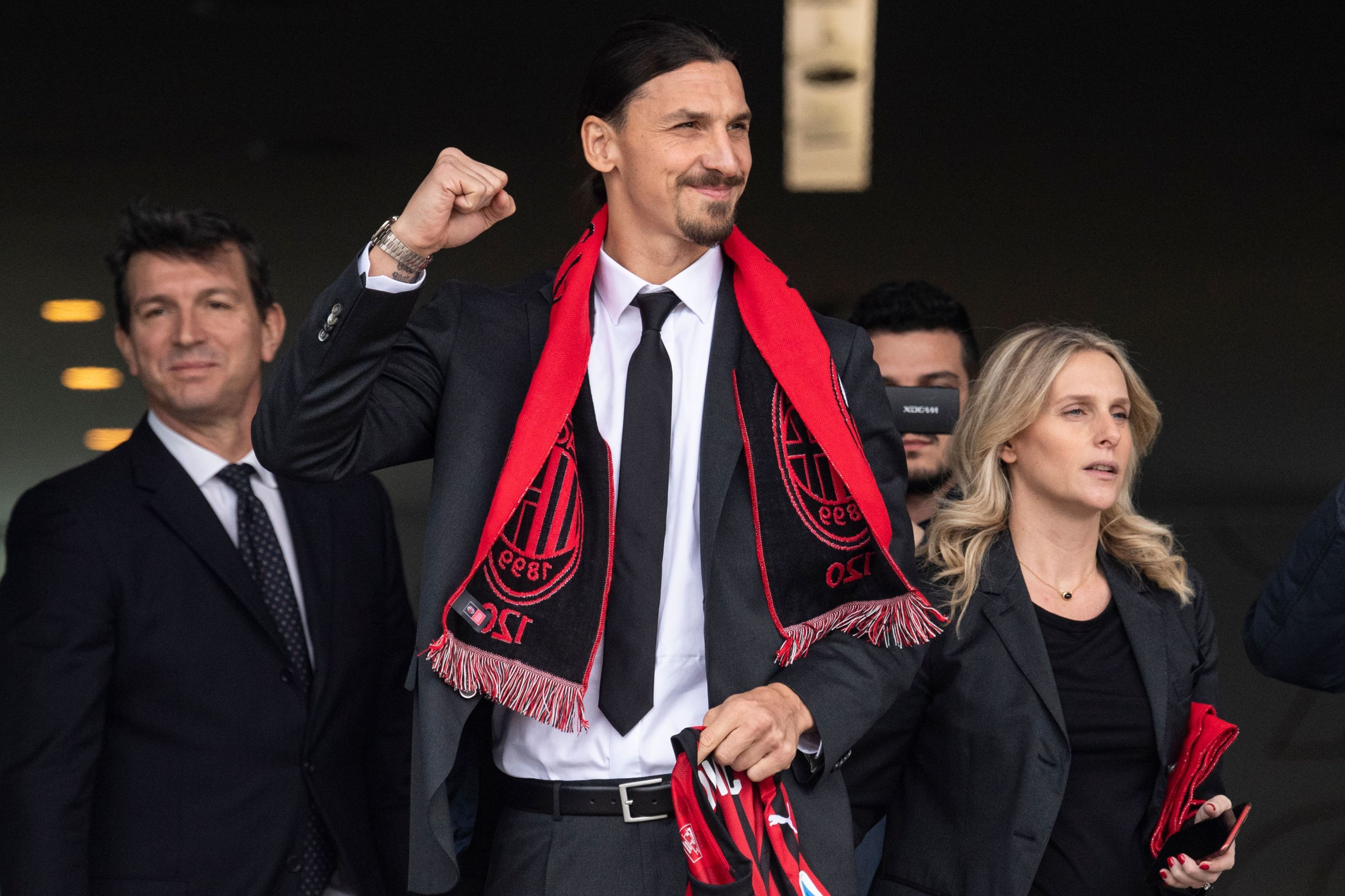 Serie A: AC Milan surges in the standings thanks to Zlatan Ibrahimovic