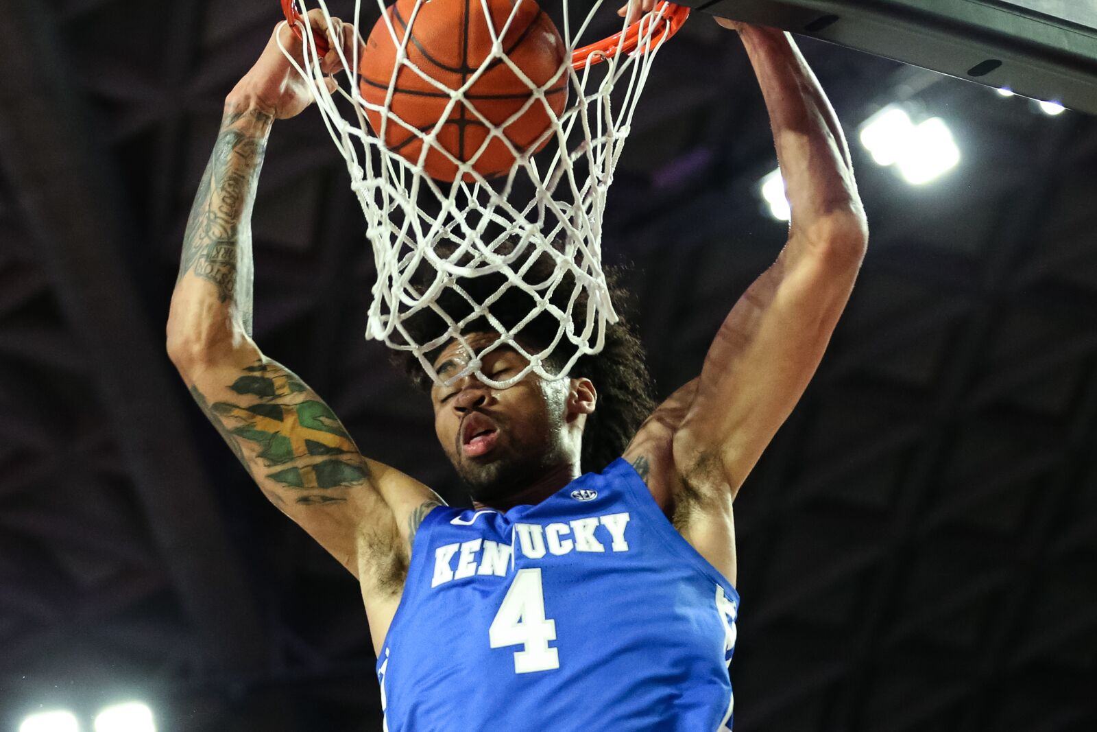 Kentucky basketball: Nick Richards coming alive at perfect time