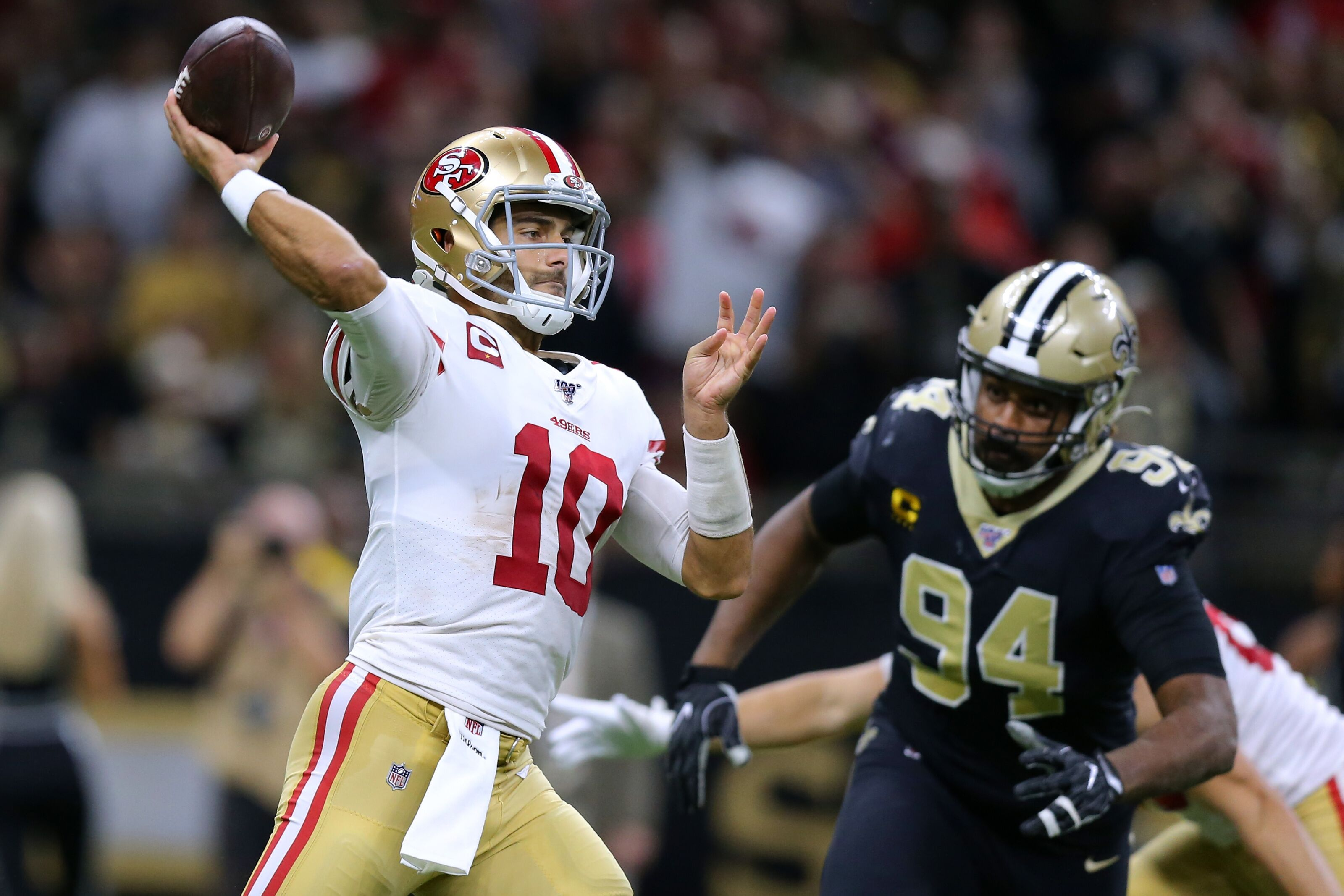 The Saints haven't proven themselves this season against contenders