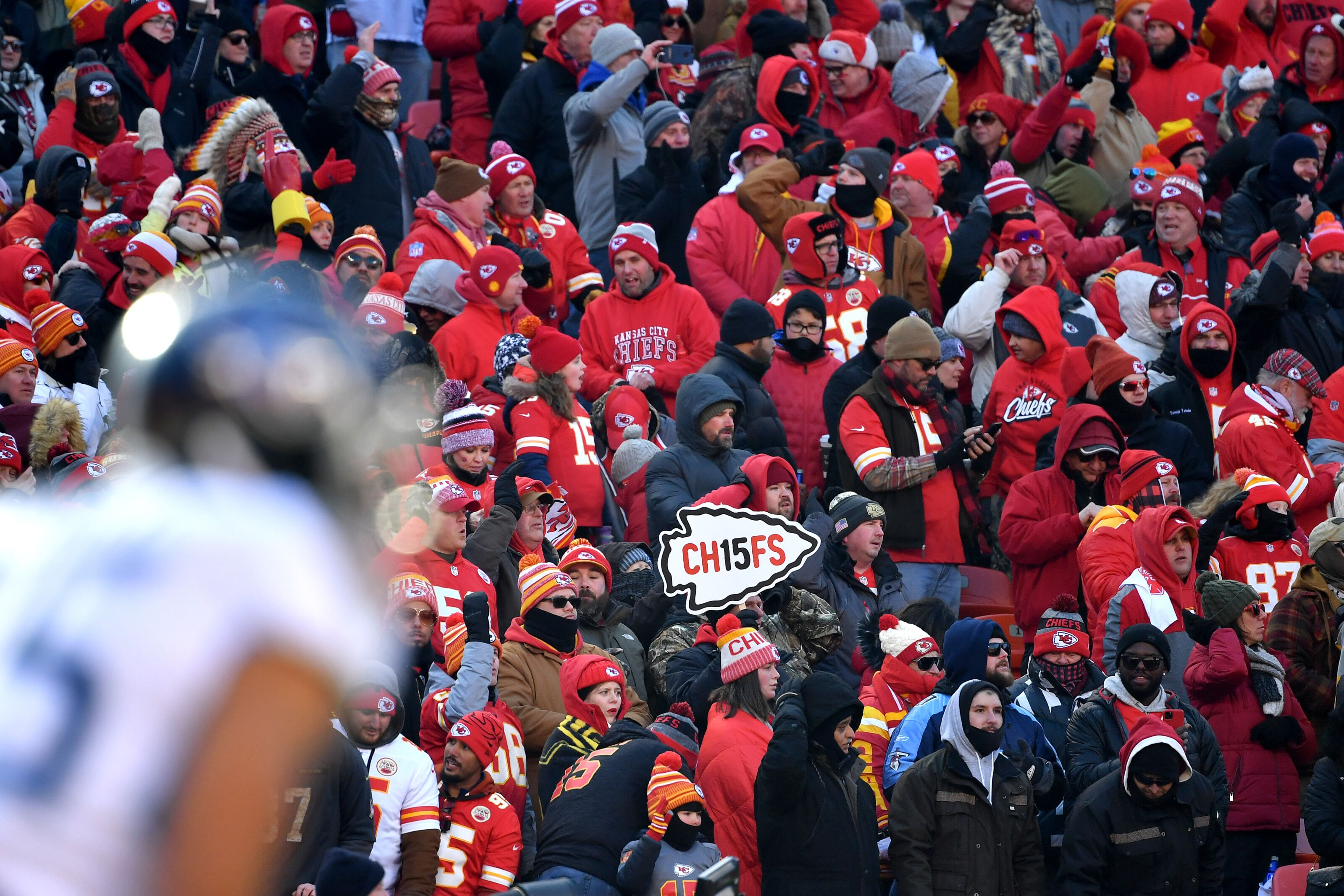 The Chiefs are going to the Super Bowl and fans are going bonkers