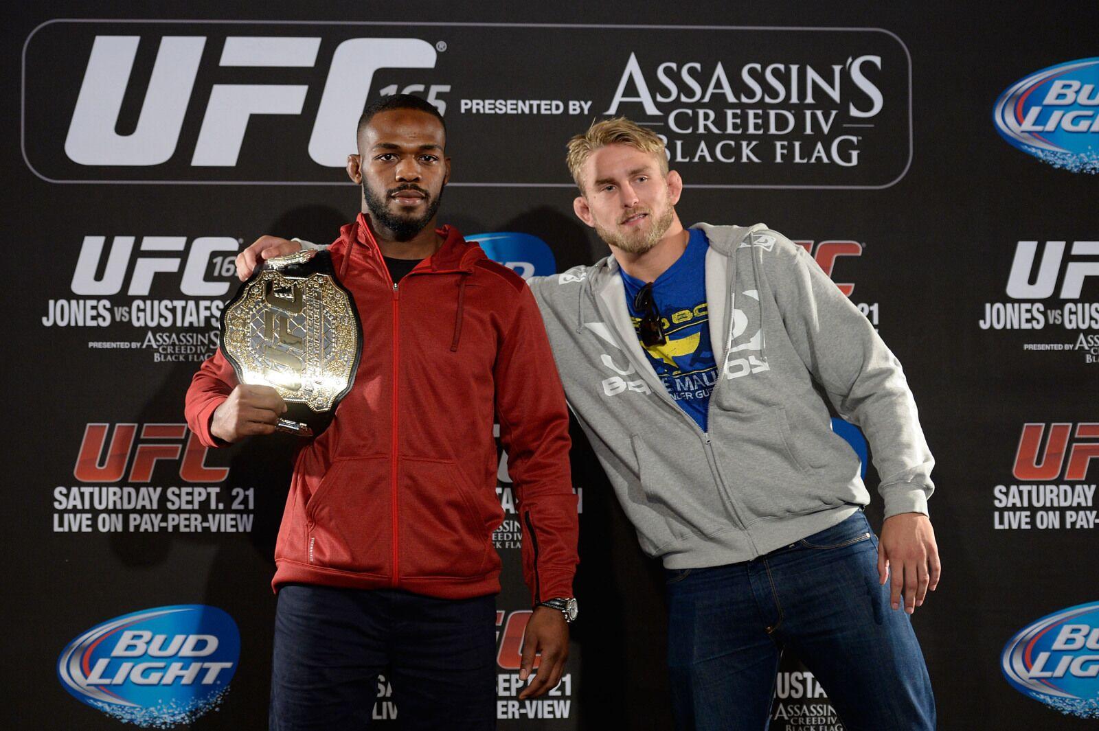 UFC 232: Jon Jones vs. Alexander Gustafsson official for light heavyweight title