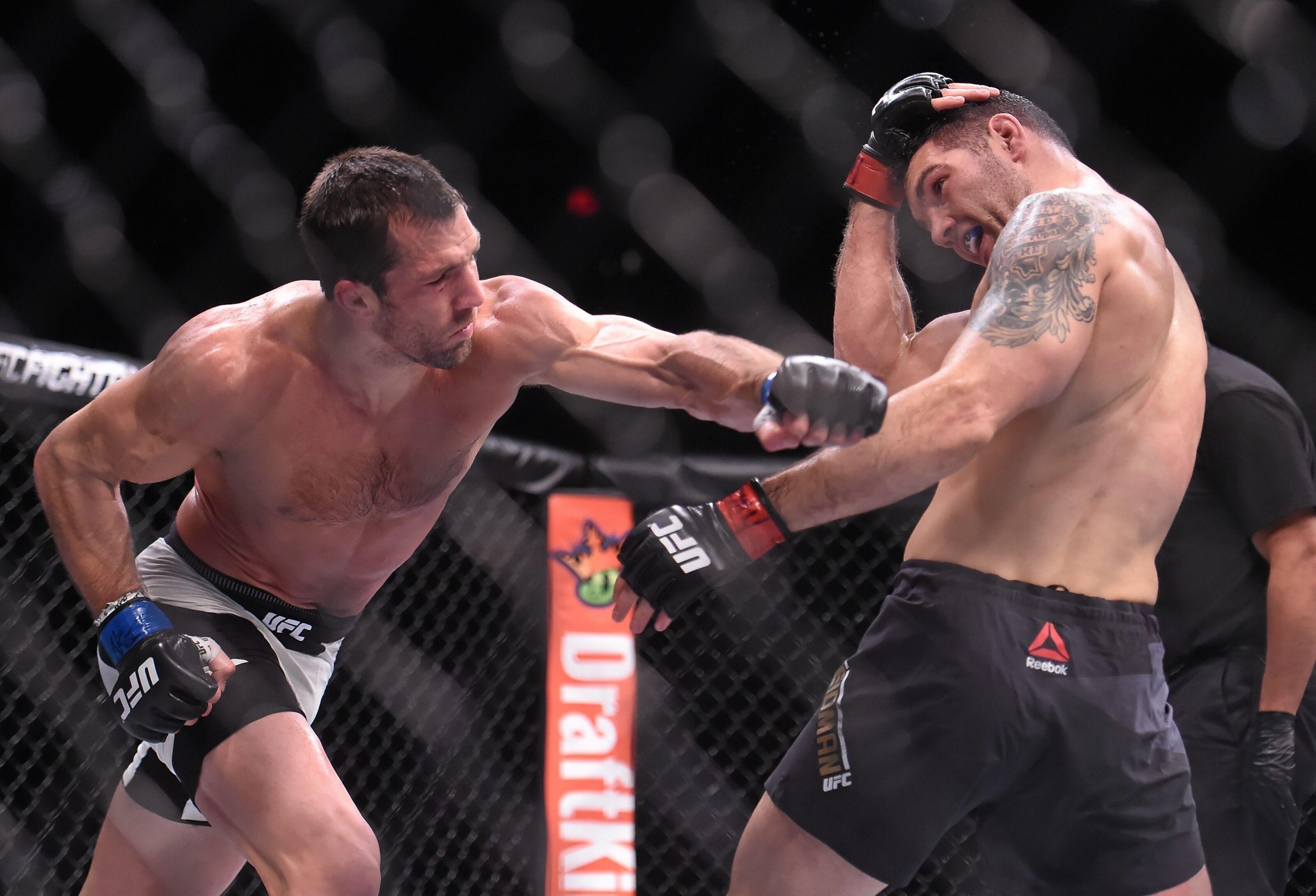 UFC 230: Chris Weidman vs. Luke Rockhold 2 is officially on