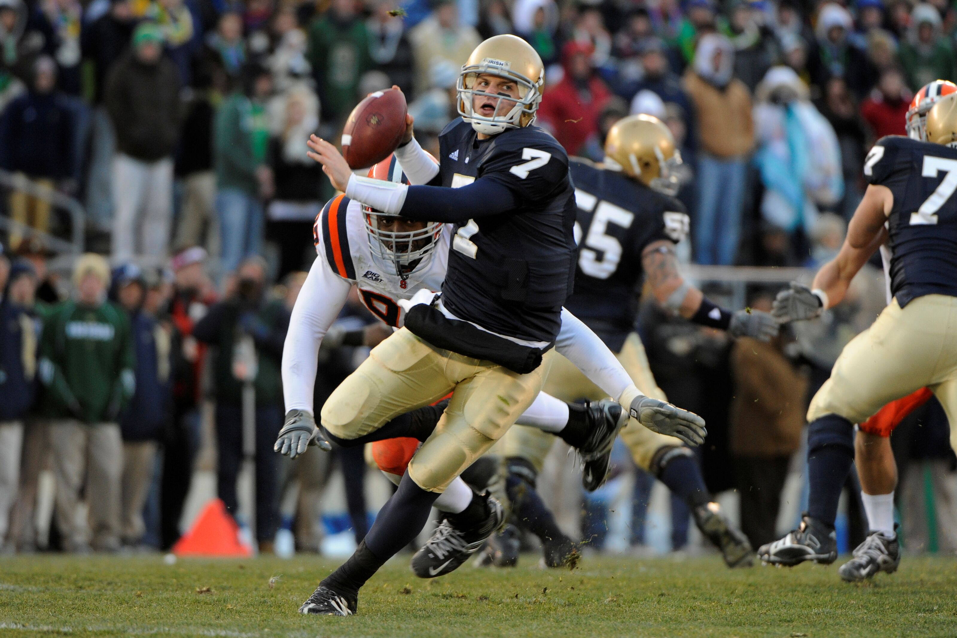 Throwback Thursday: Syracuse shocks Notre Dame in 2008