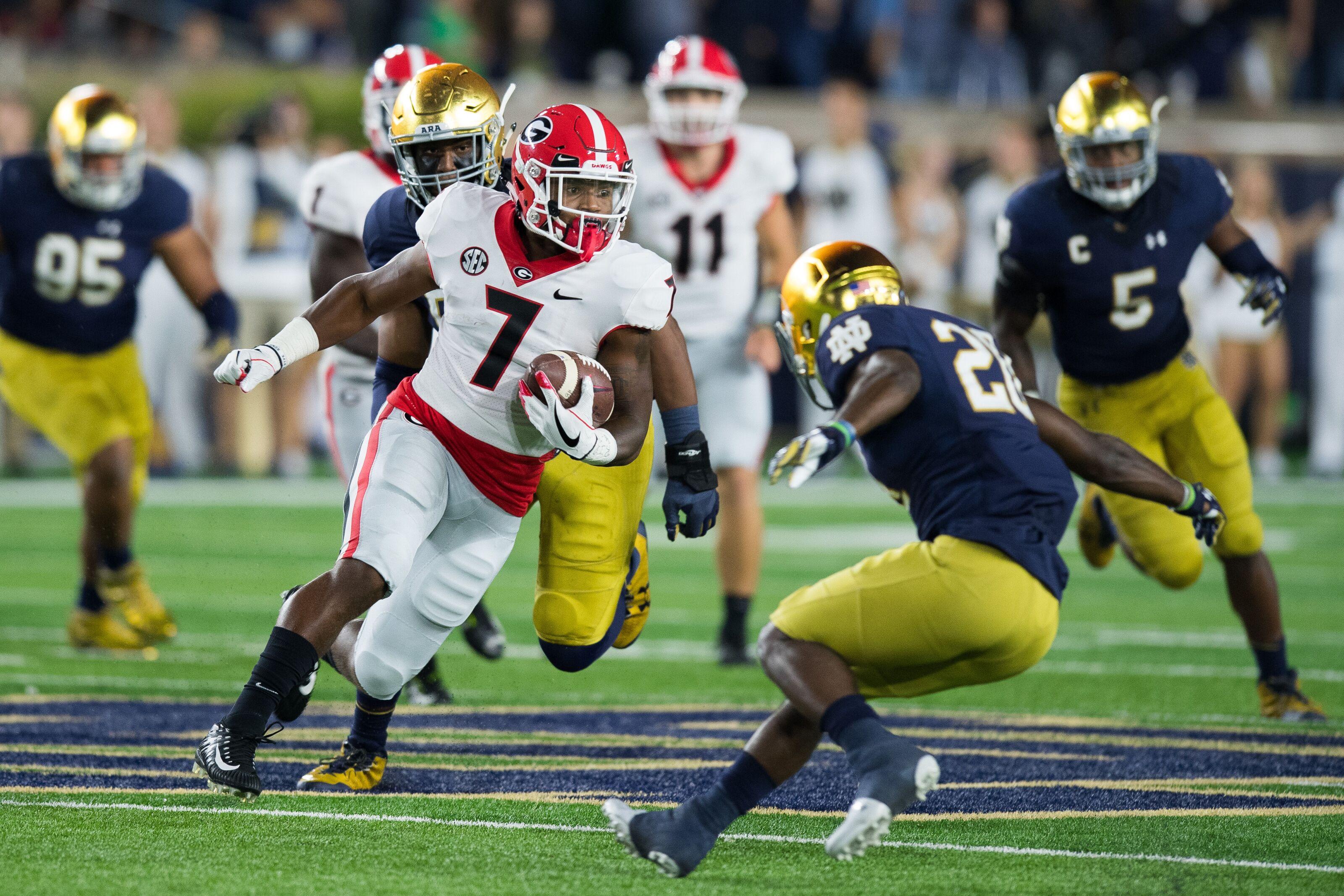 Upset Alert: 5 college football teams in danger of losing in Week 4