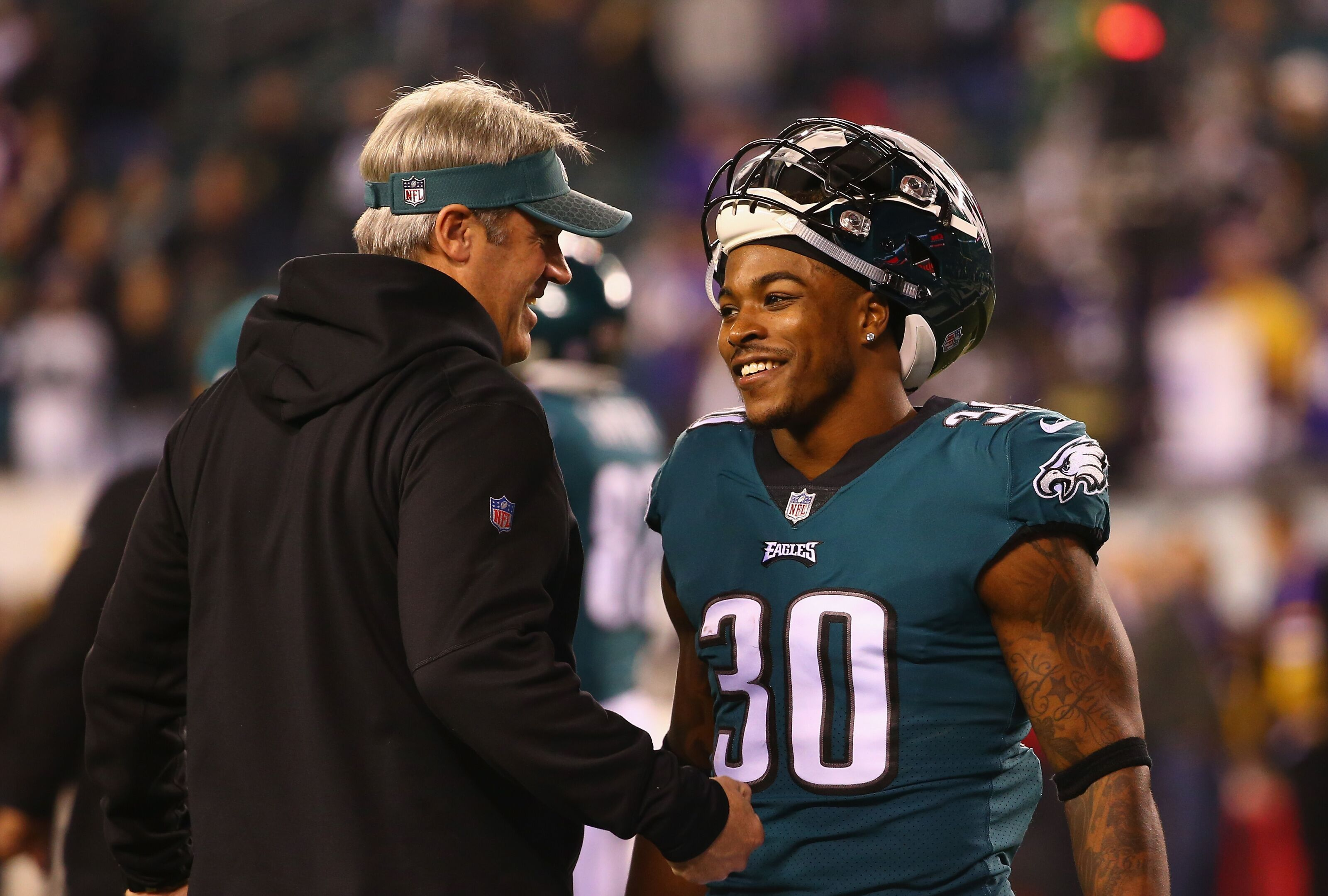 cheap for discount 851e2 8fbe0 Fantasy Football 2018: Corey Clement Waiver Wire