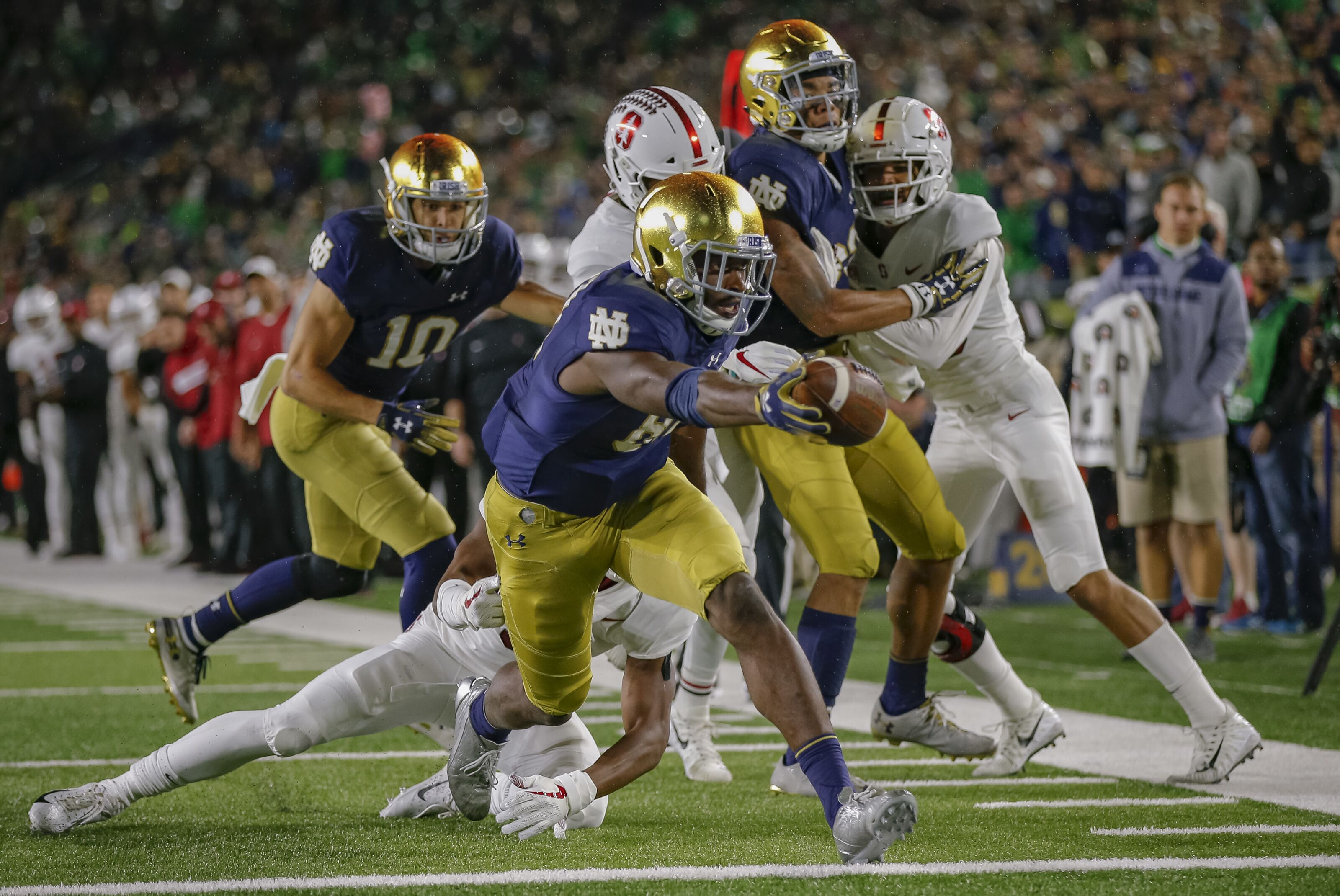 College football Week 5: Winners (Notre Dame) and losers (Bobby Petrino)