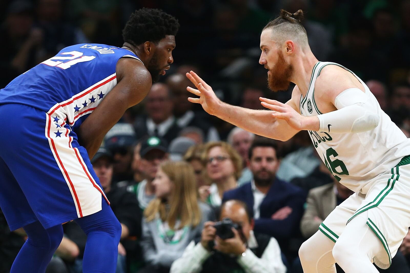 Nylon Calculus: Are Al Horford and Aron Baynes the NBA's premier Embiid-stoppers?