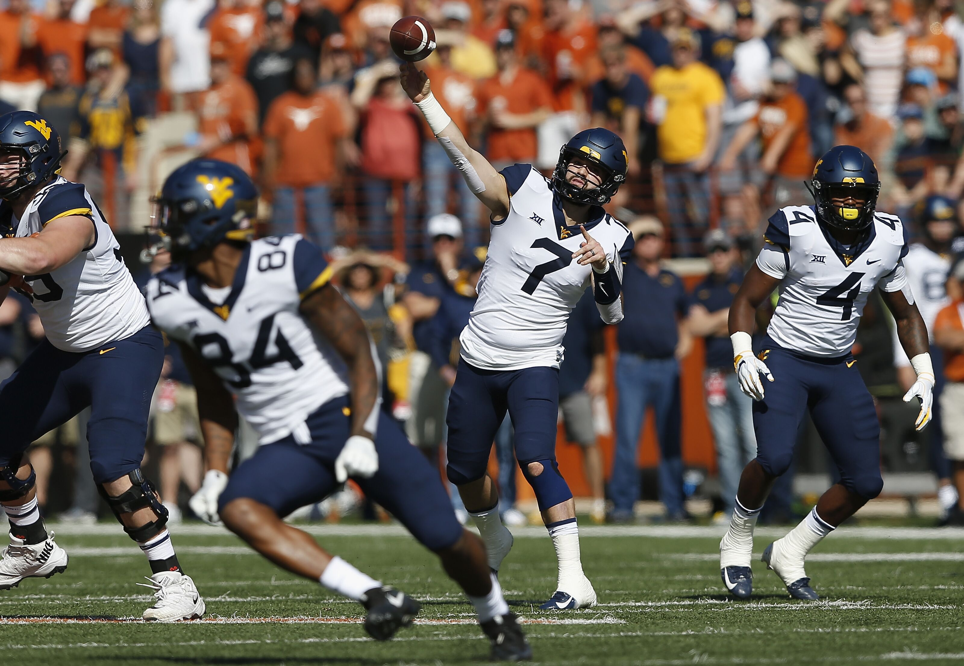 Will Grier delivers Heisman moment to beat Texas