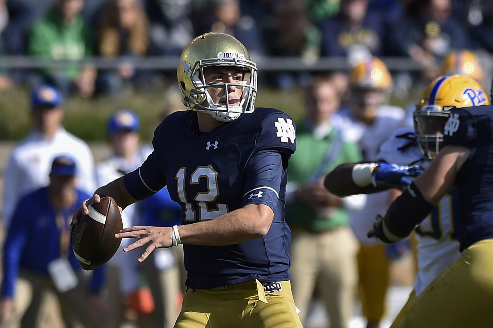 a7a4f23569f4 Notre Dame football 2019 spring preview: Irish contenders or pretenders?