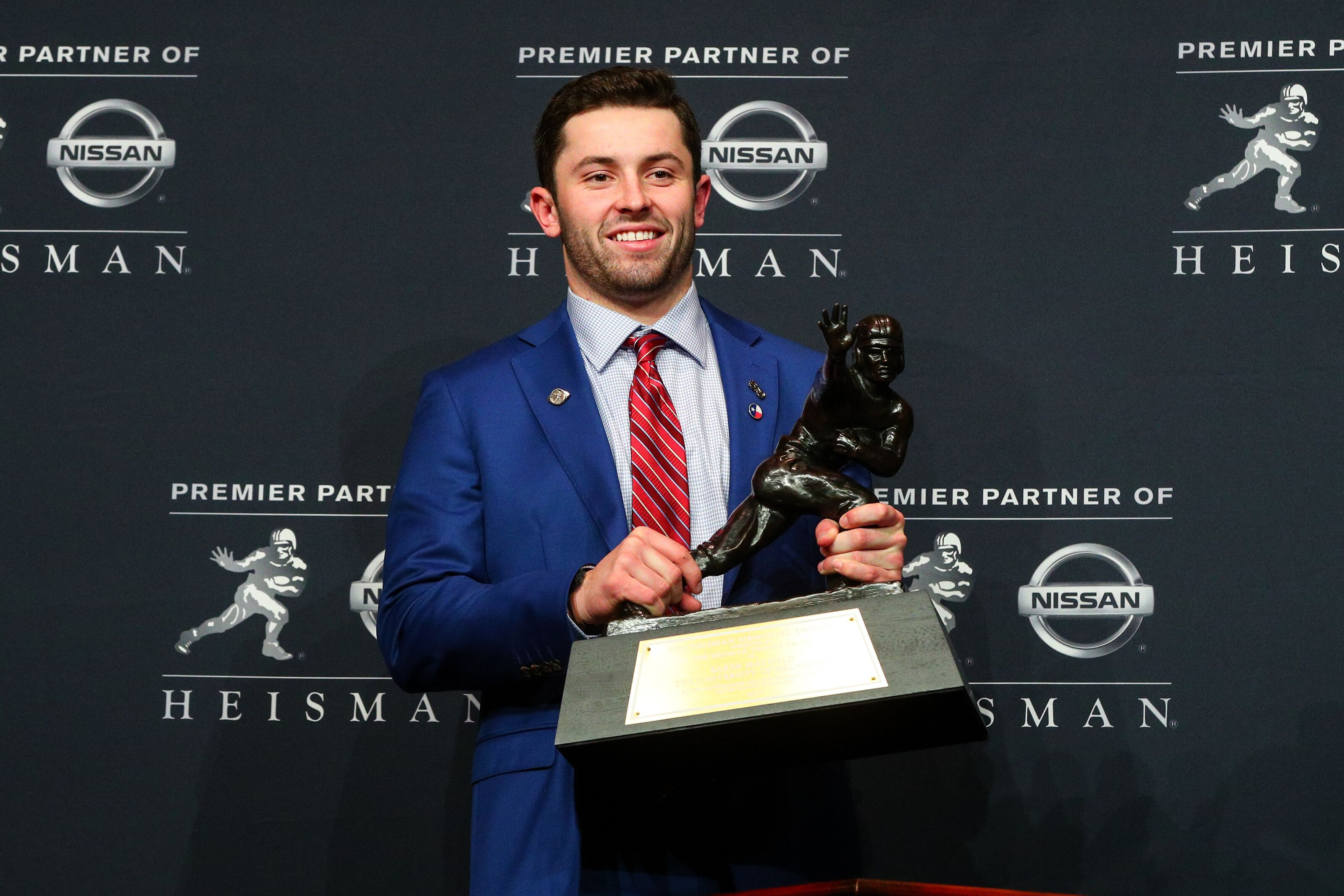 How many Heisman winners were the No  1 pick in the NFL Draft?