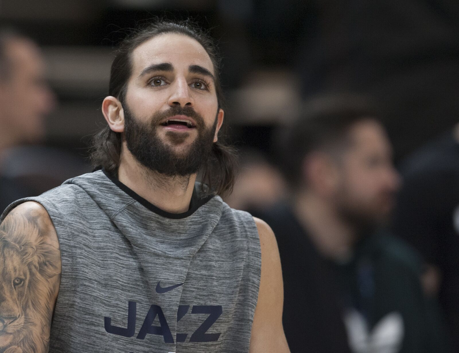 Ricky Rubio's halftime performance was better than Maroon 5
