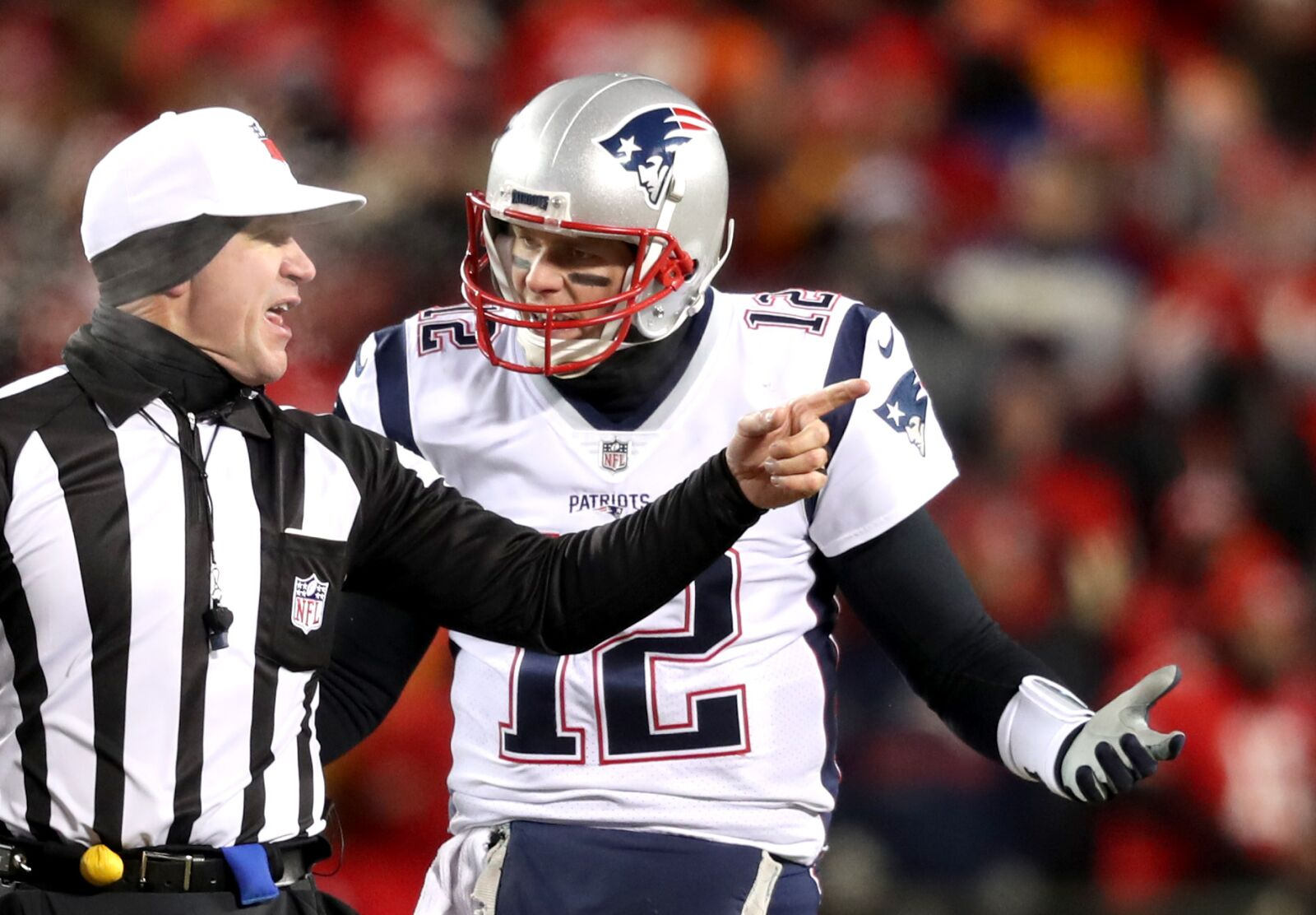 Tom Brady can't watch the NFL's penalty fest
