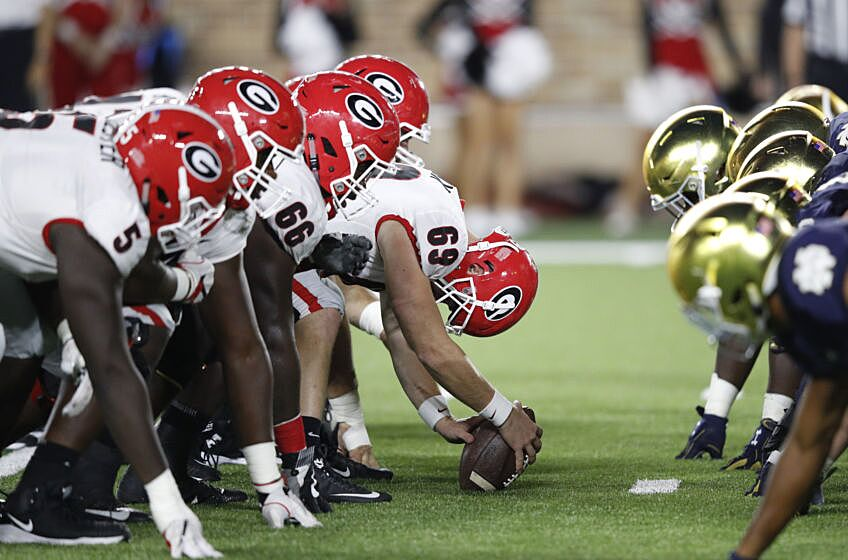 Best College Football Games 2019 15 non conference games that will shape 2019 College Football Playoff