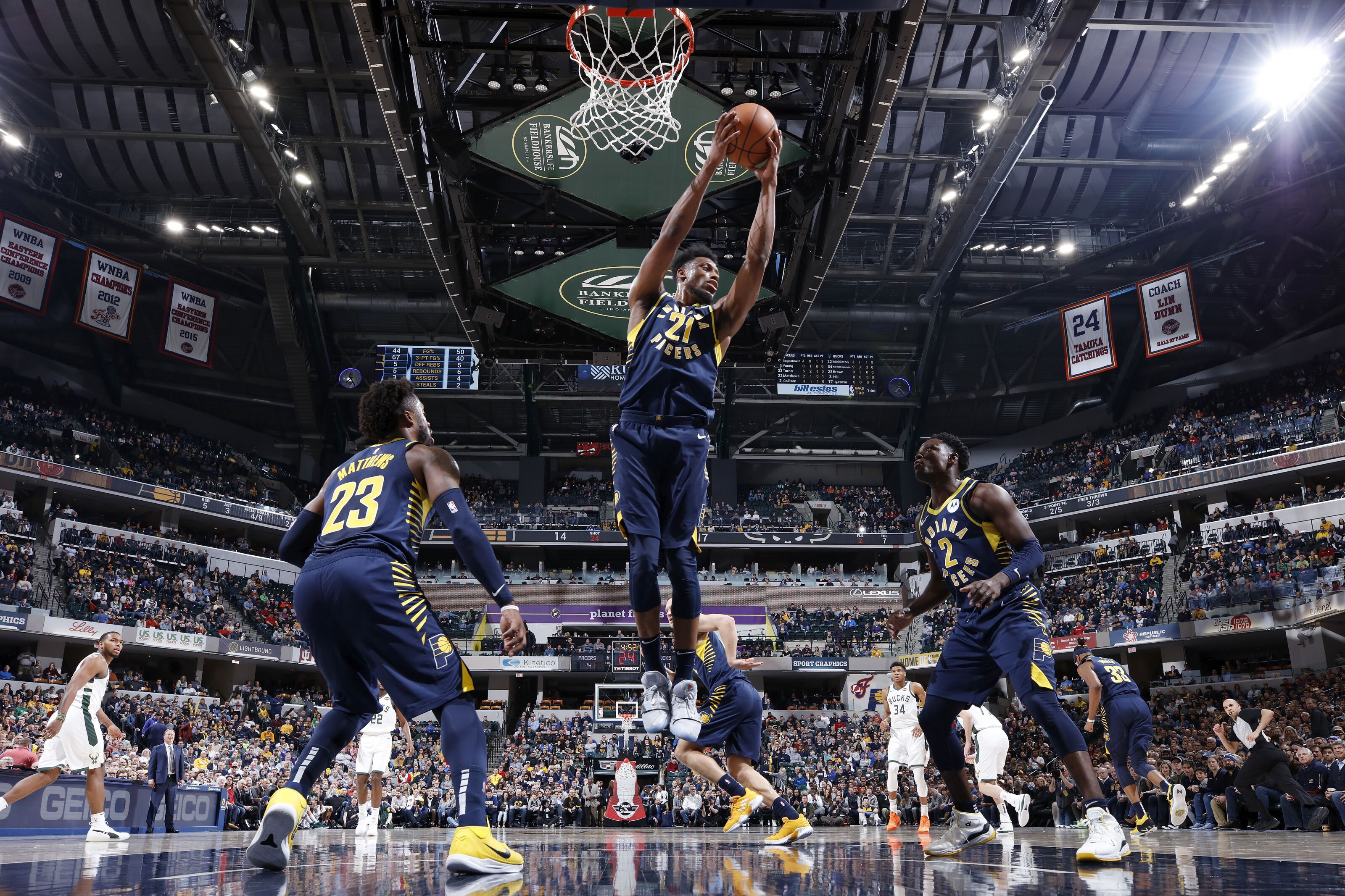 f7ebacb7311 The Indiana Pacers are finding their identity in the absence of Victor  Oladipo