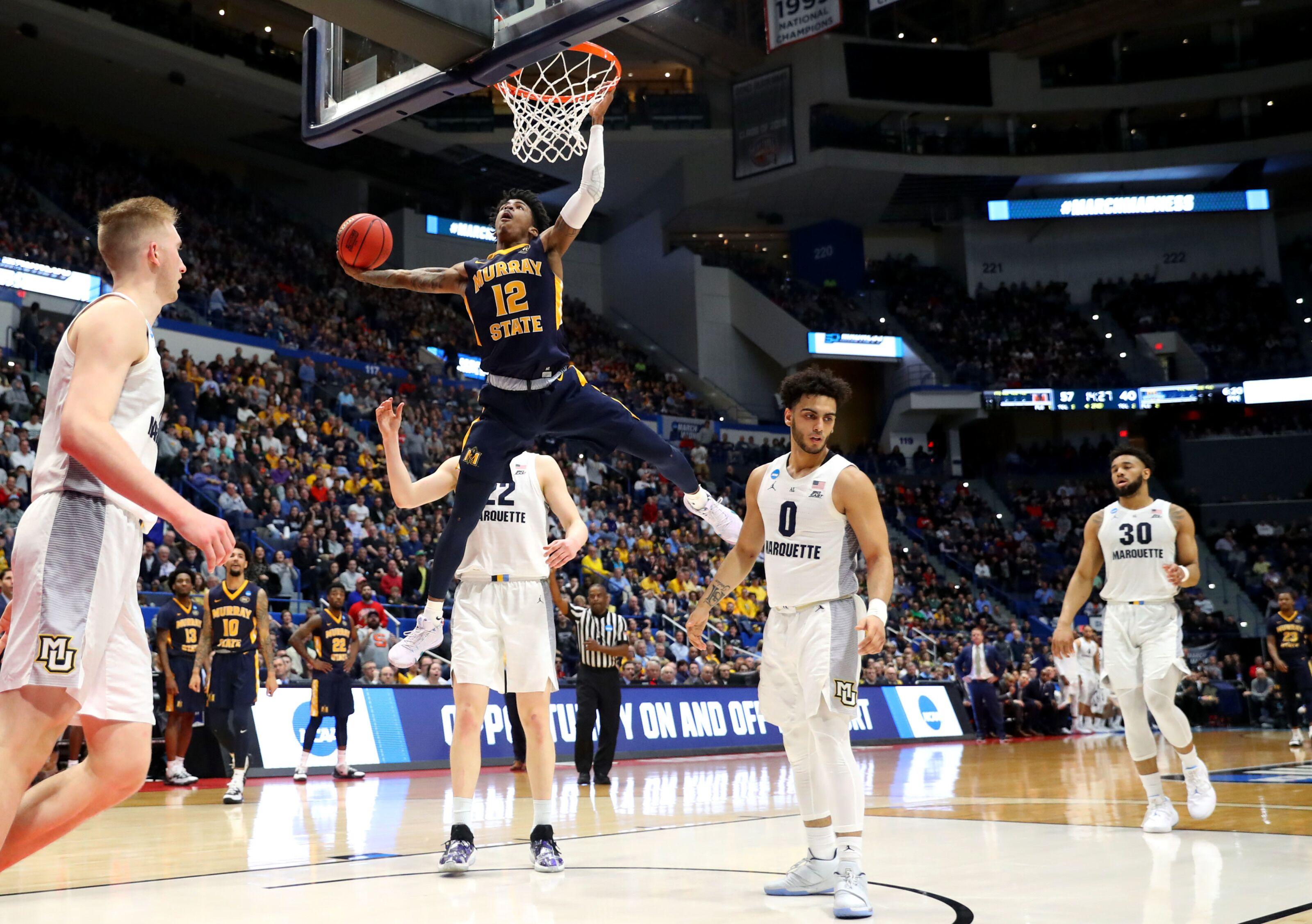 Ja Morant is unstoppable and other highlights from day one of the NCAA tournament