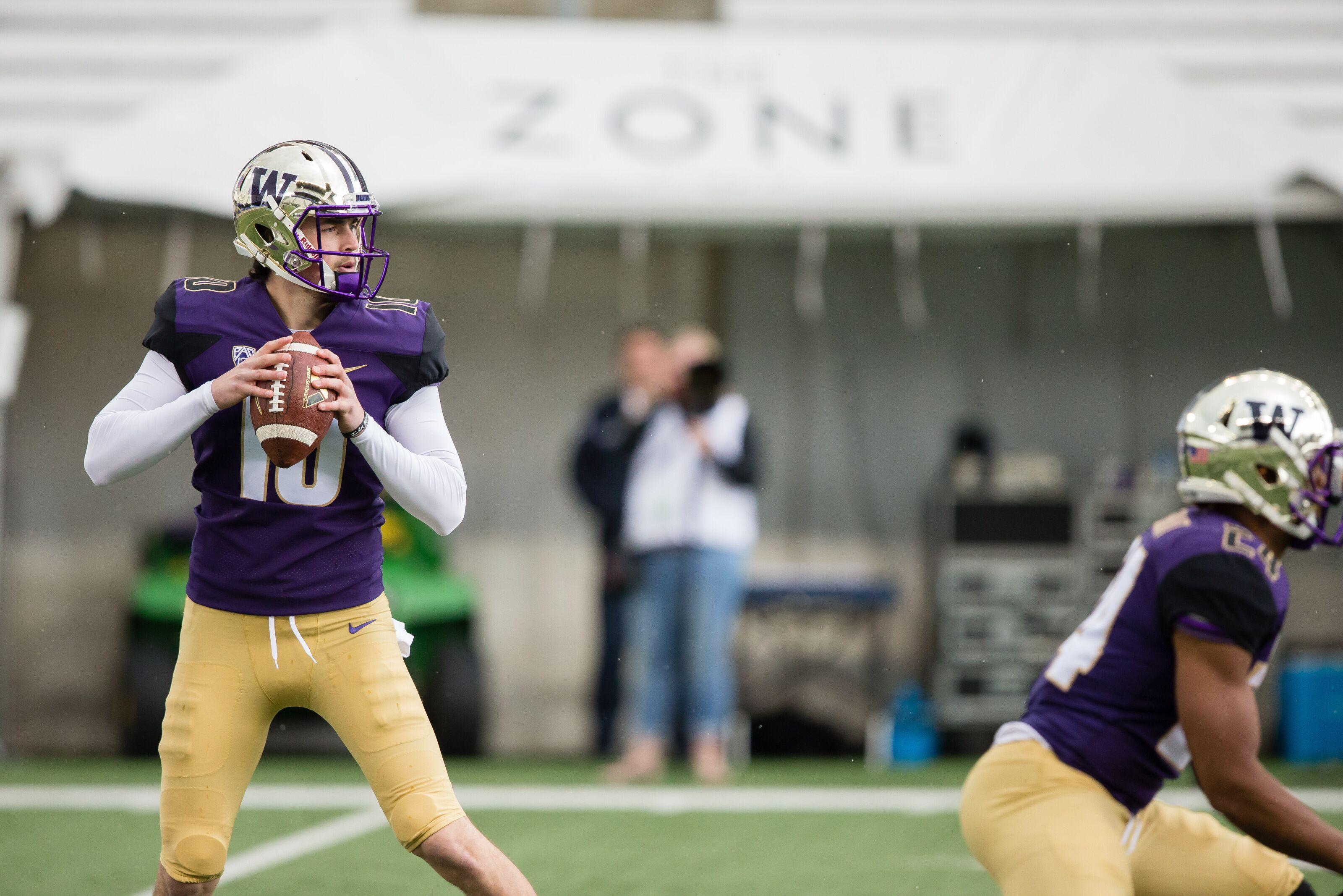 a7cc41b9 Washington football 2019 spring preview: All eyes on Jacob Eason