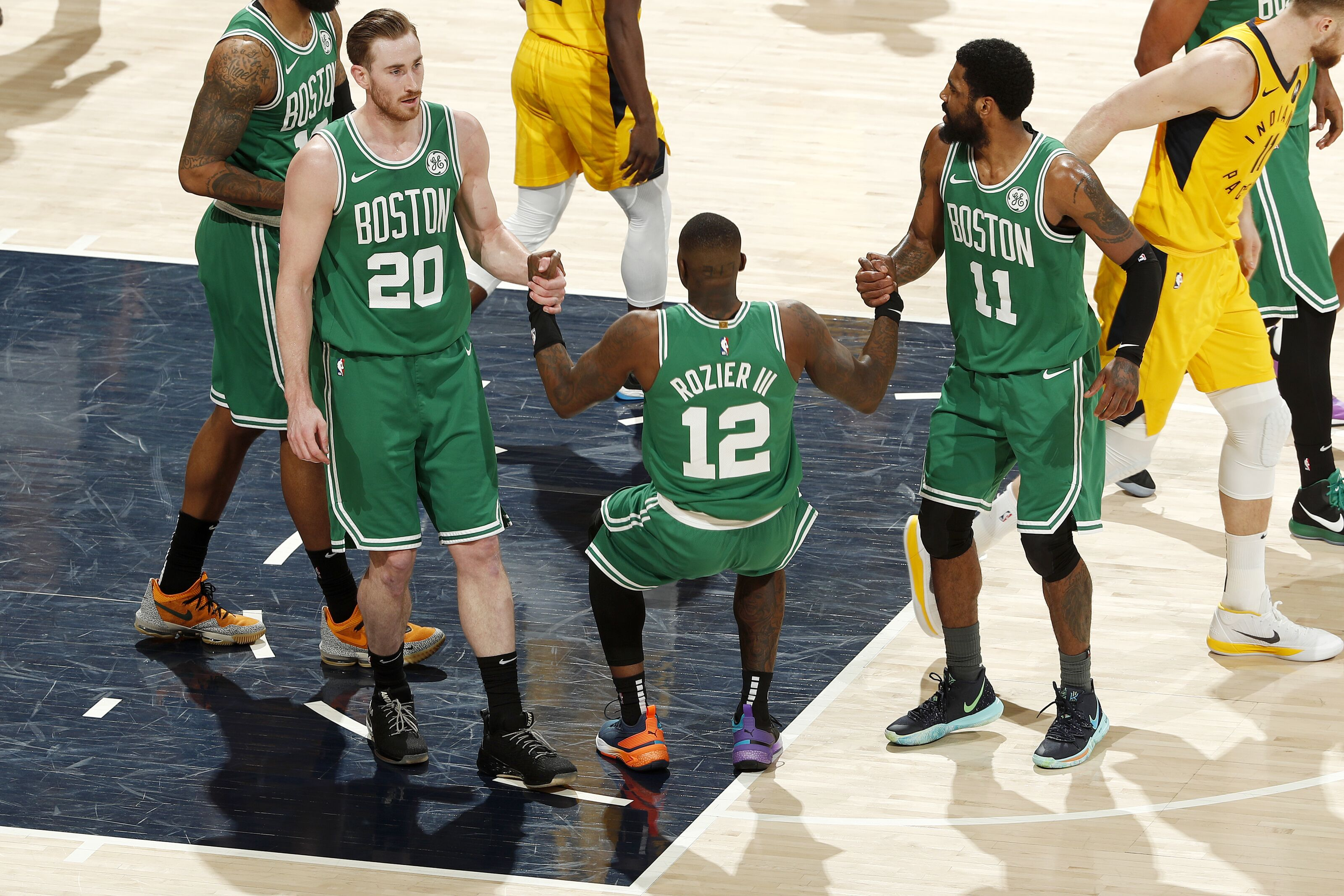 Celtics finish strong to take 3-0 lead over the Pacers