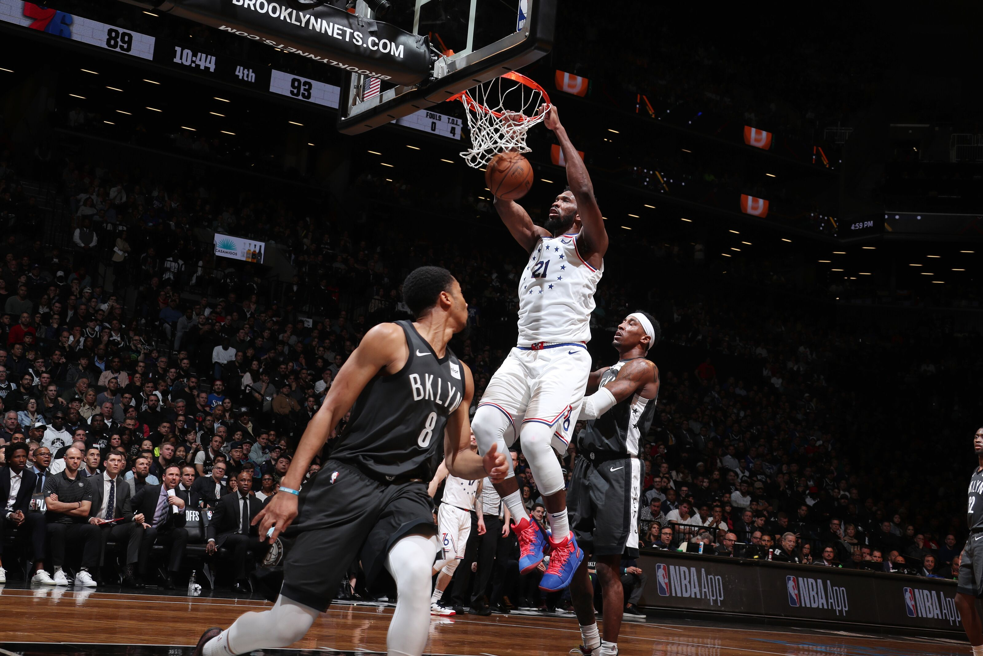76ers push Nets to the brink with wild Game 4 win