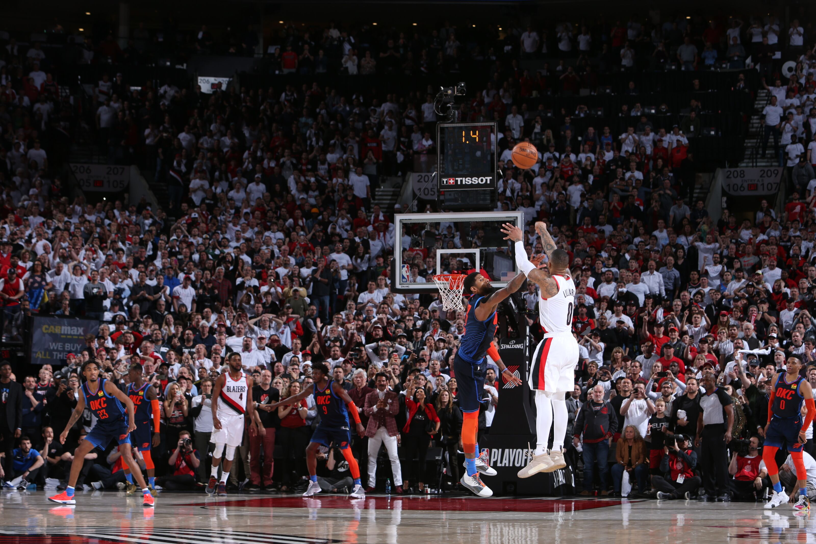 Damian Lillard beats the Thunder with 50 points and an epic buzzer