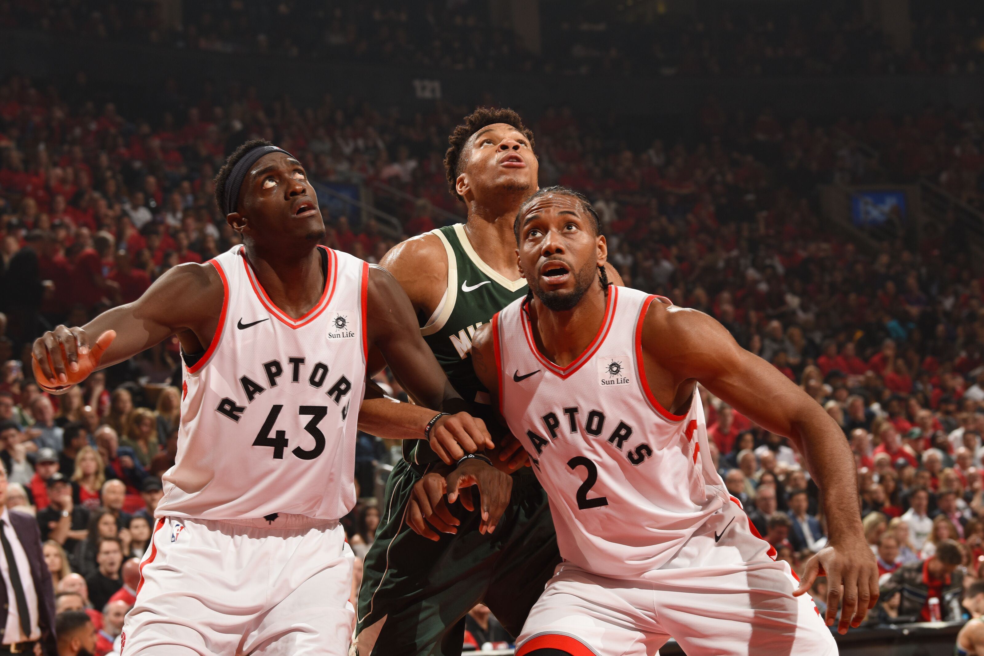 Raptors outlast the Bucks in double overtime to win Game 3