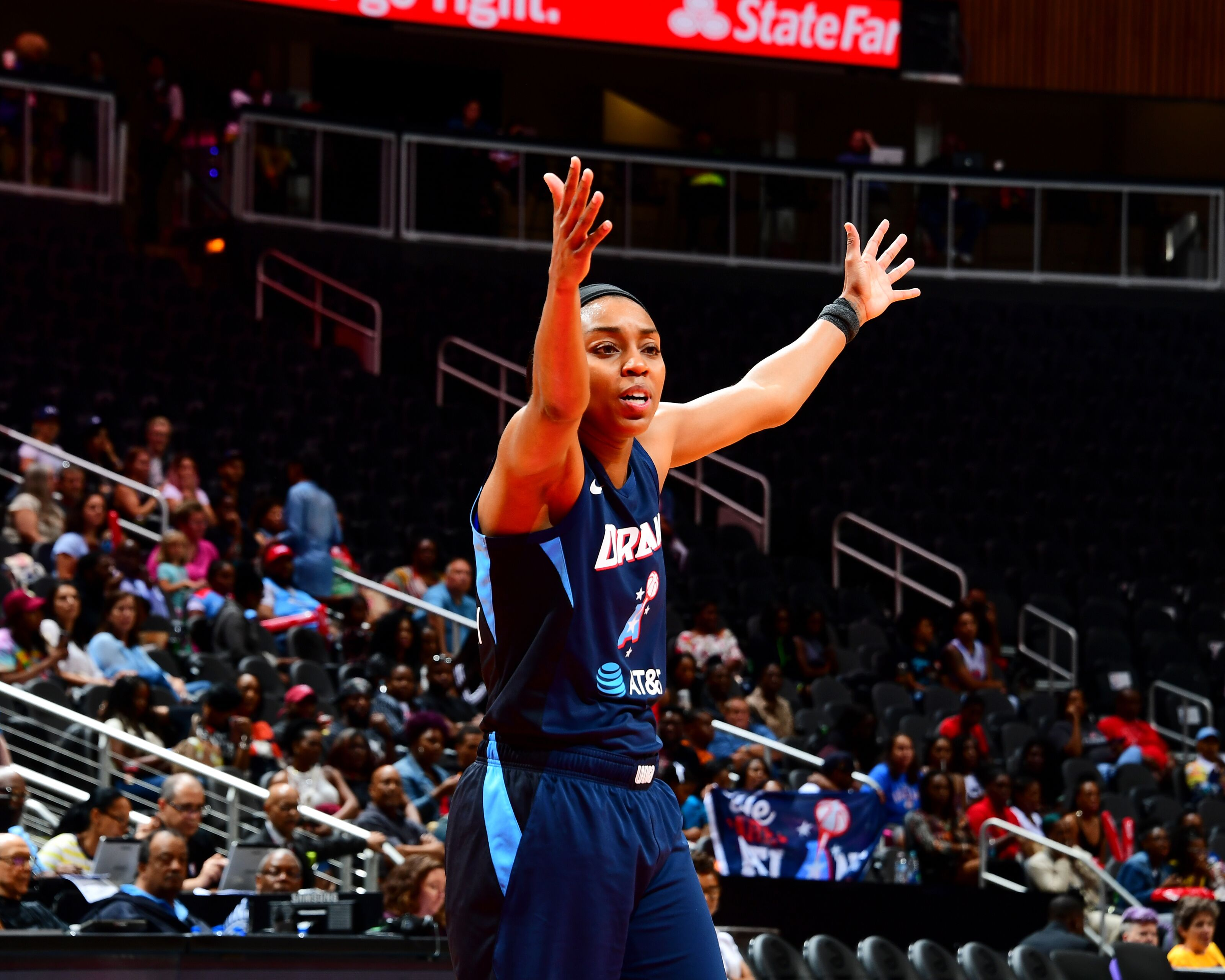 The Atlanta Dream's offense is sputtering