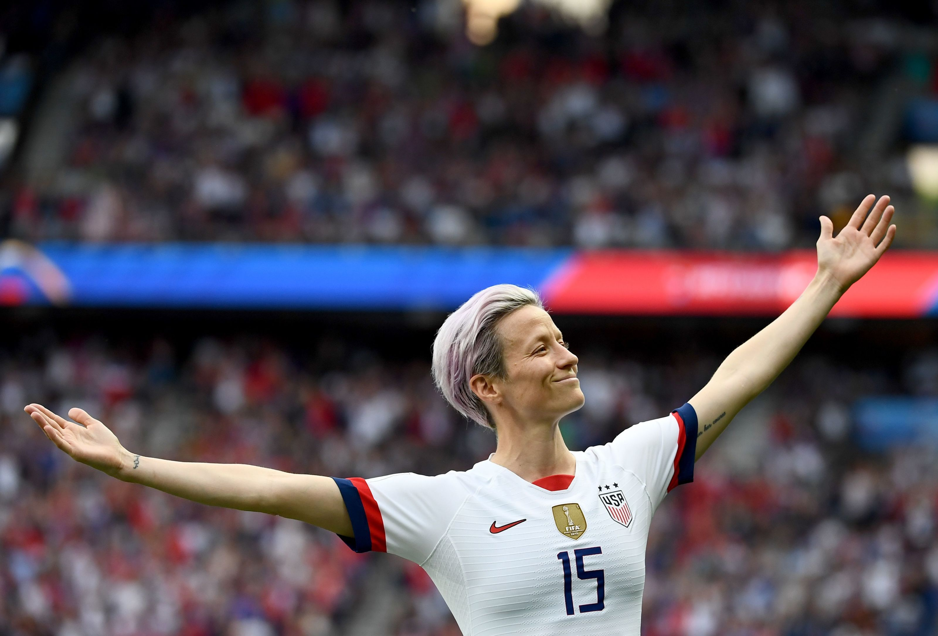 Megan Rapinoe needs to be on the cover of FIFA 20