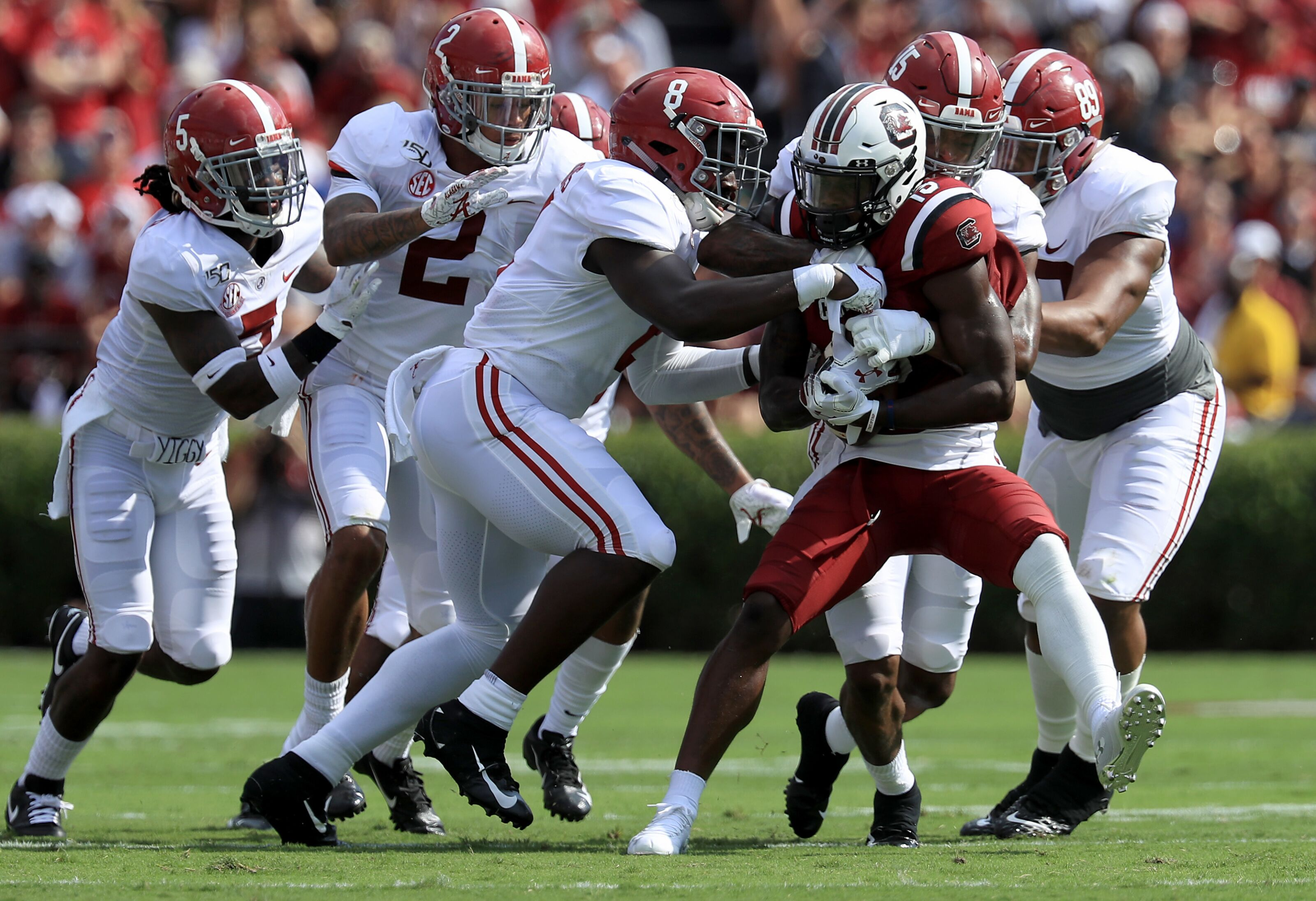 As injuries mount, it's time to be concerned about Alabama's defense