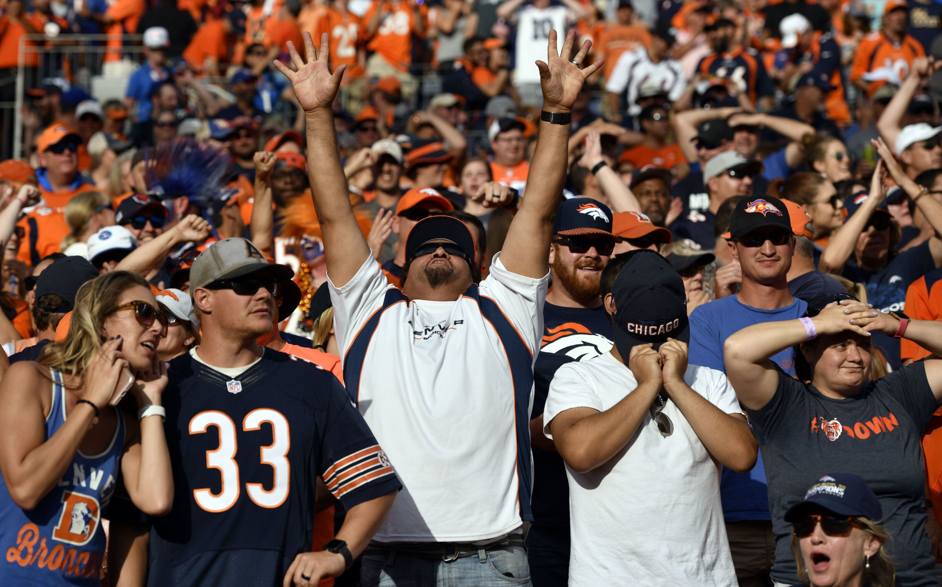 How amazingly stressful was the end of the Bears-Broncos game?