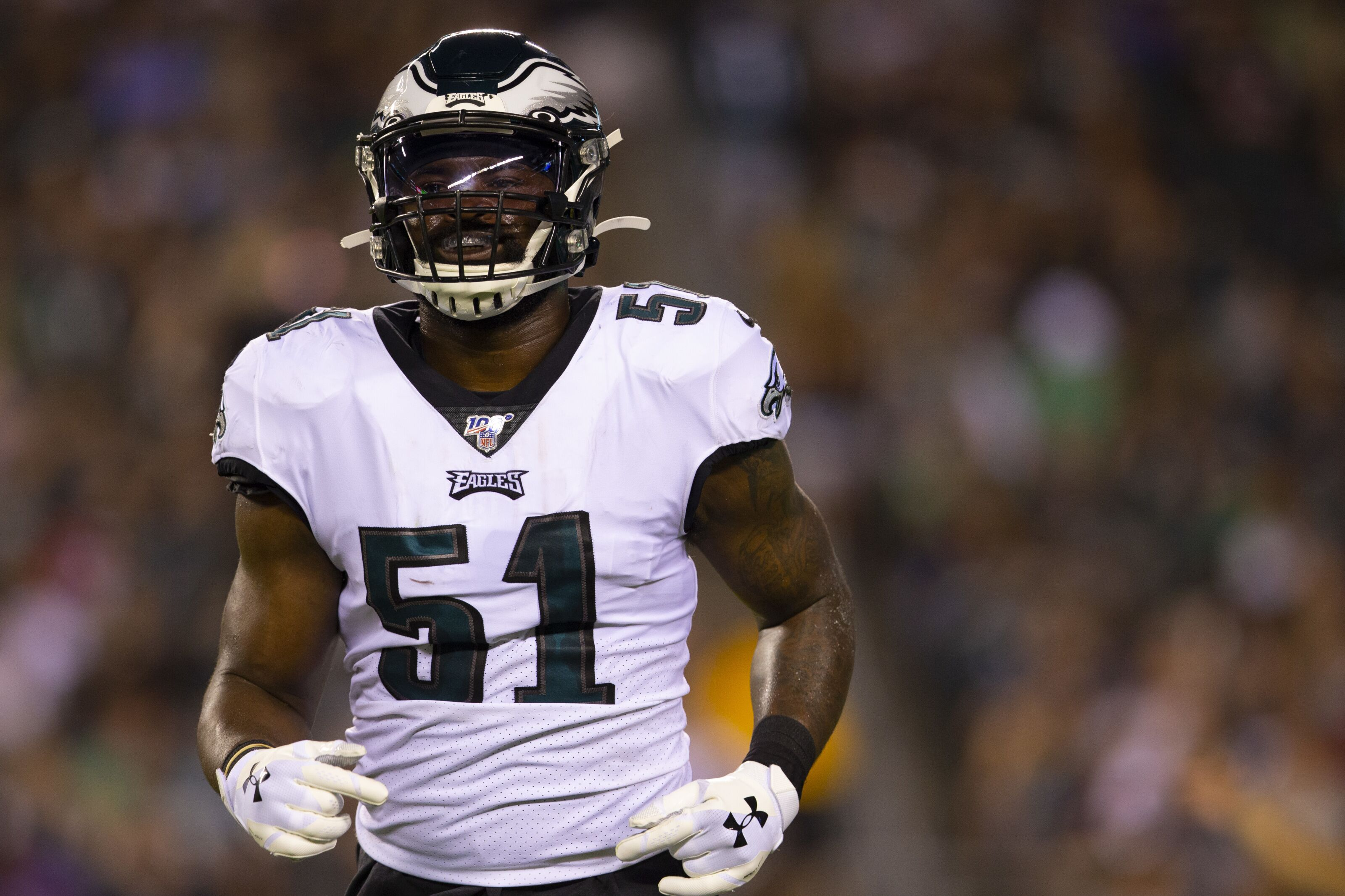 Eagles' Zach Brown released after a rough 24 hours