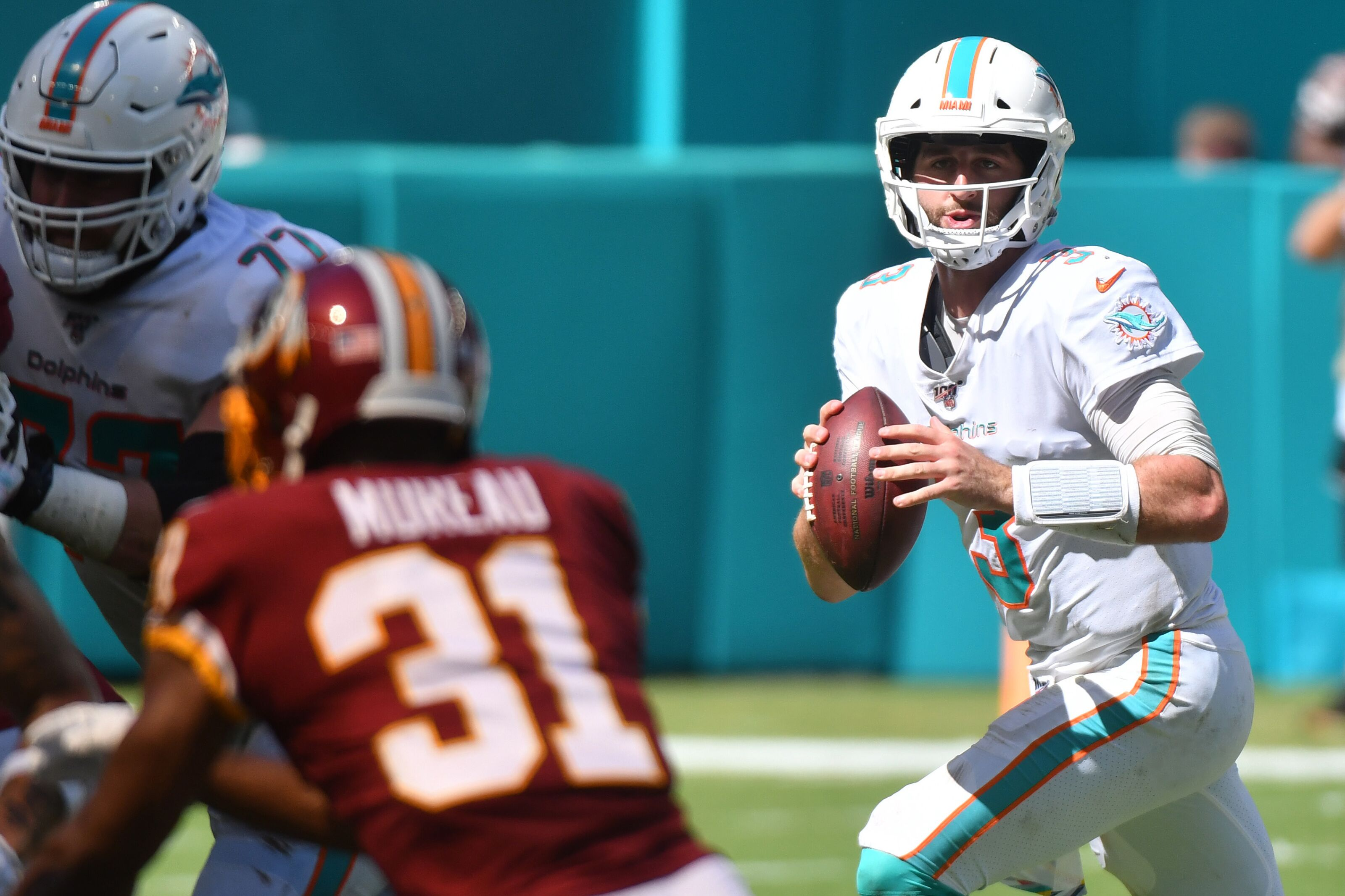 Dolphins benched Josh Rosen because they're clueless
