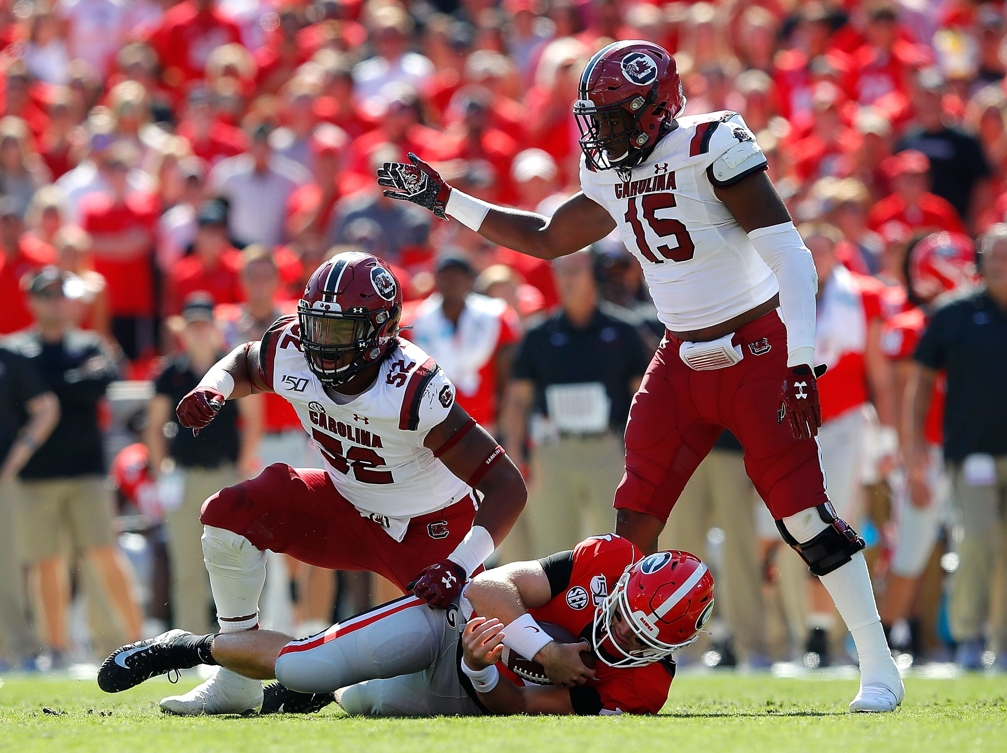 Anatomy of an upset: 3 cardinal sins Georgia committed in loss to South Carolina
