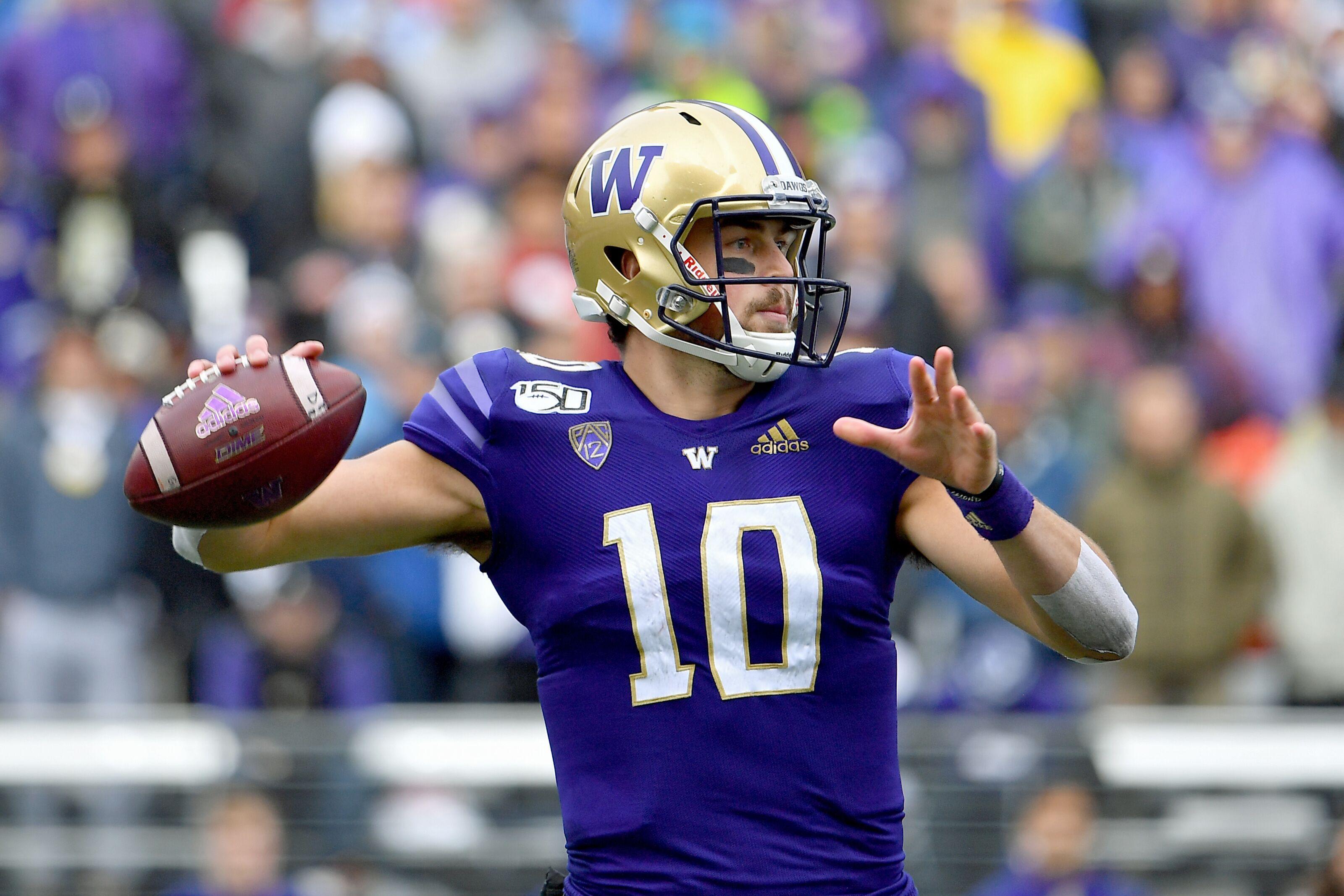 Washington quarterback Jacob Eason made a ton of money vs. Oregon