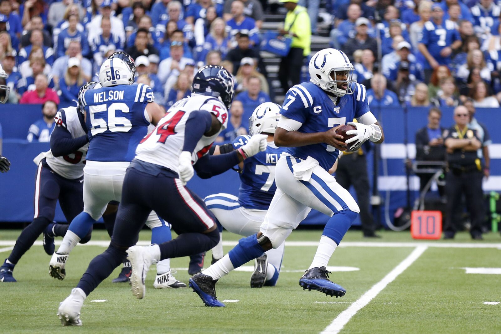 Colts win over Texans and look like AFC contenders