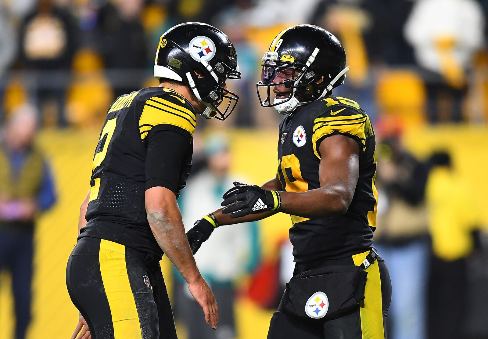 JuJu Smith-Schuster could be trending up for the Steelers