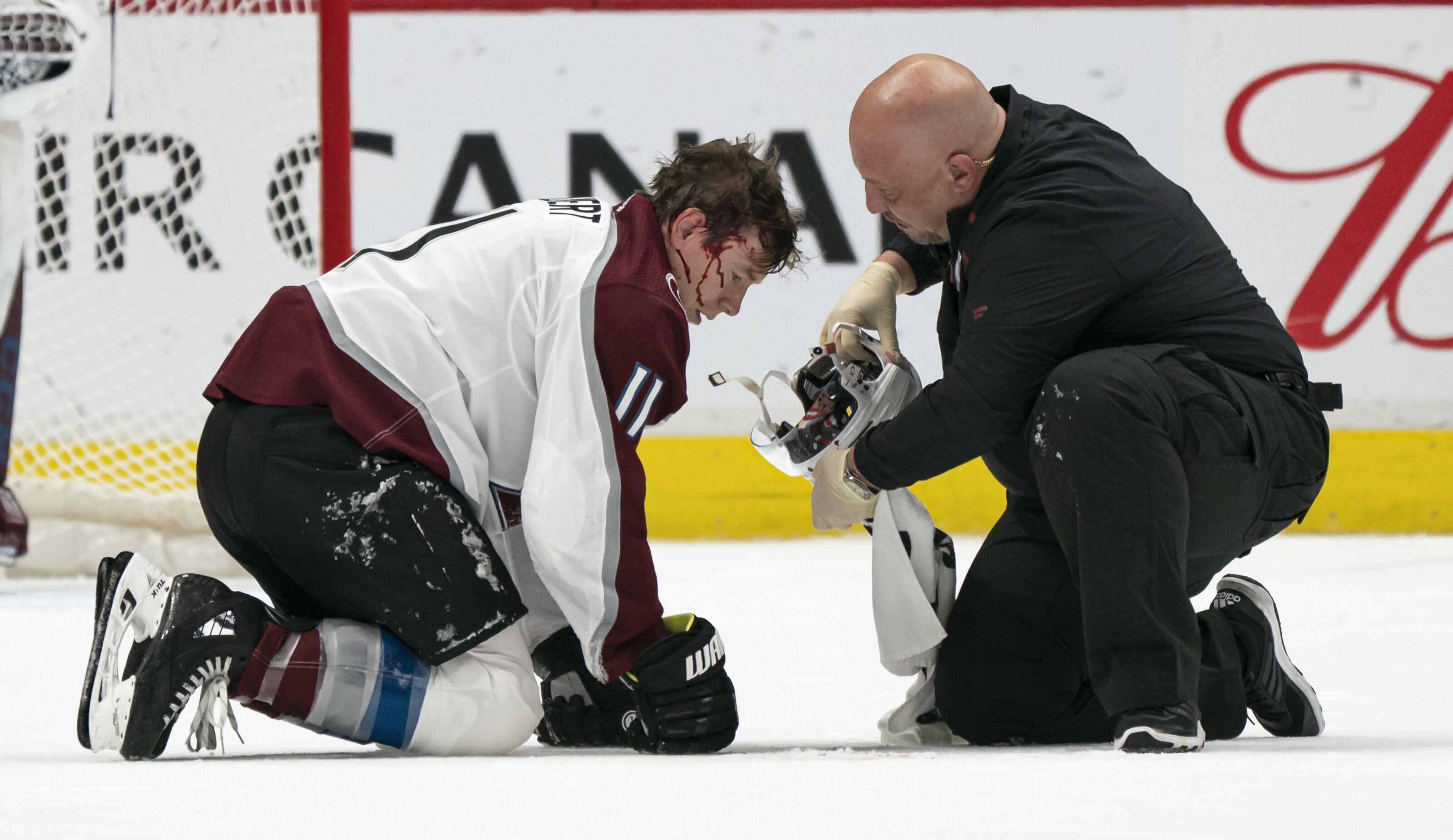 Avalanche's Matt Calvert injury showcases inconsistent, flawed NHL rule