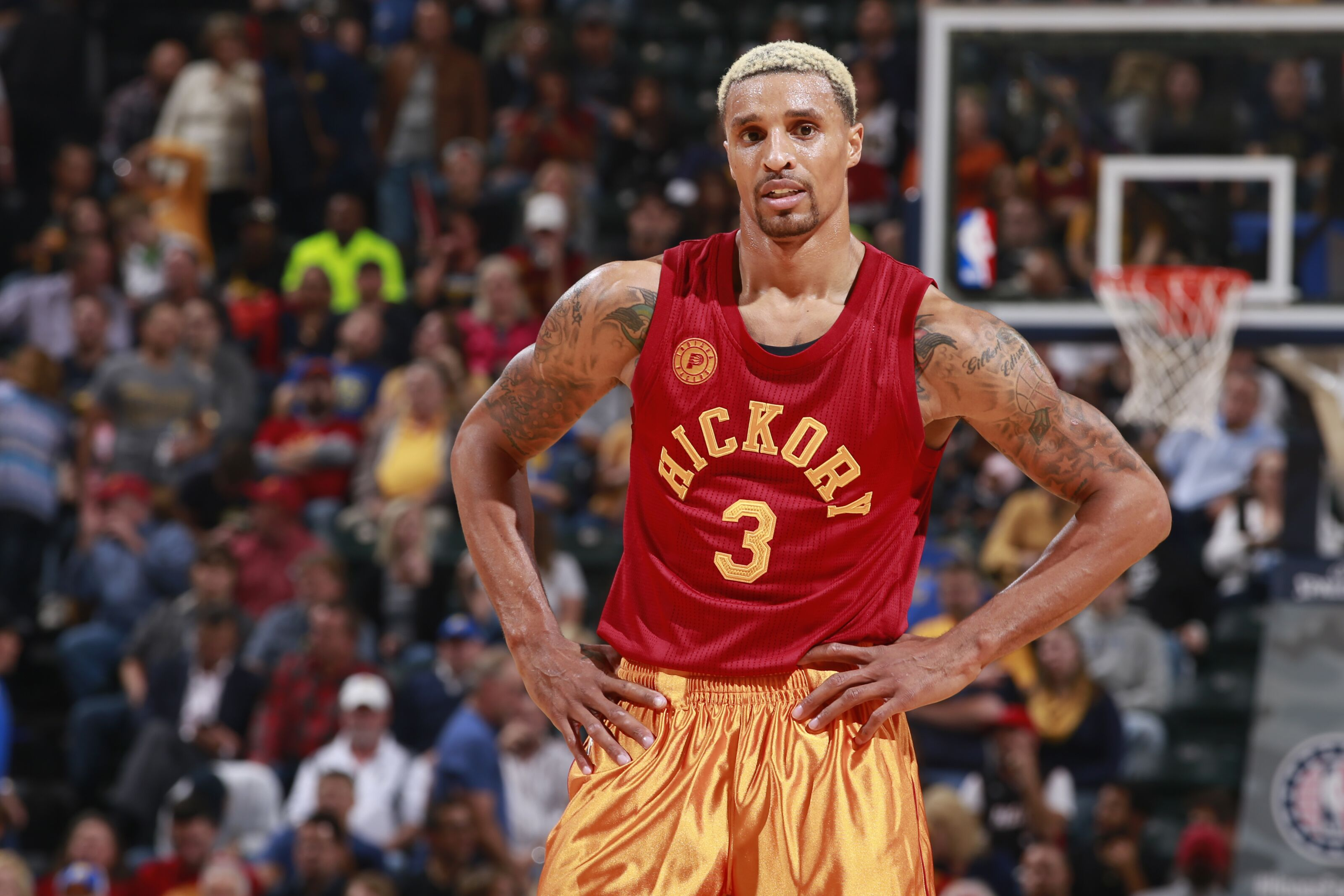 The five basketball lives of George Hill