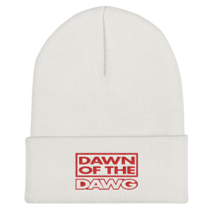 Dawn of the Dawg Cuffed Beanie